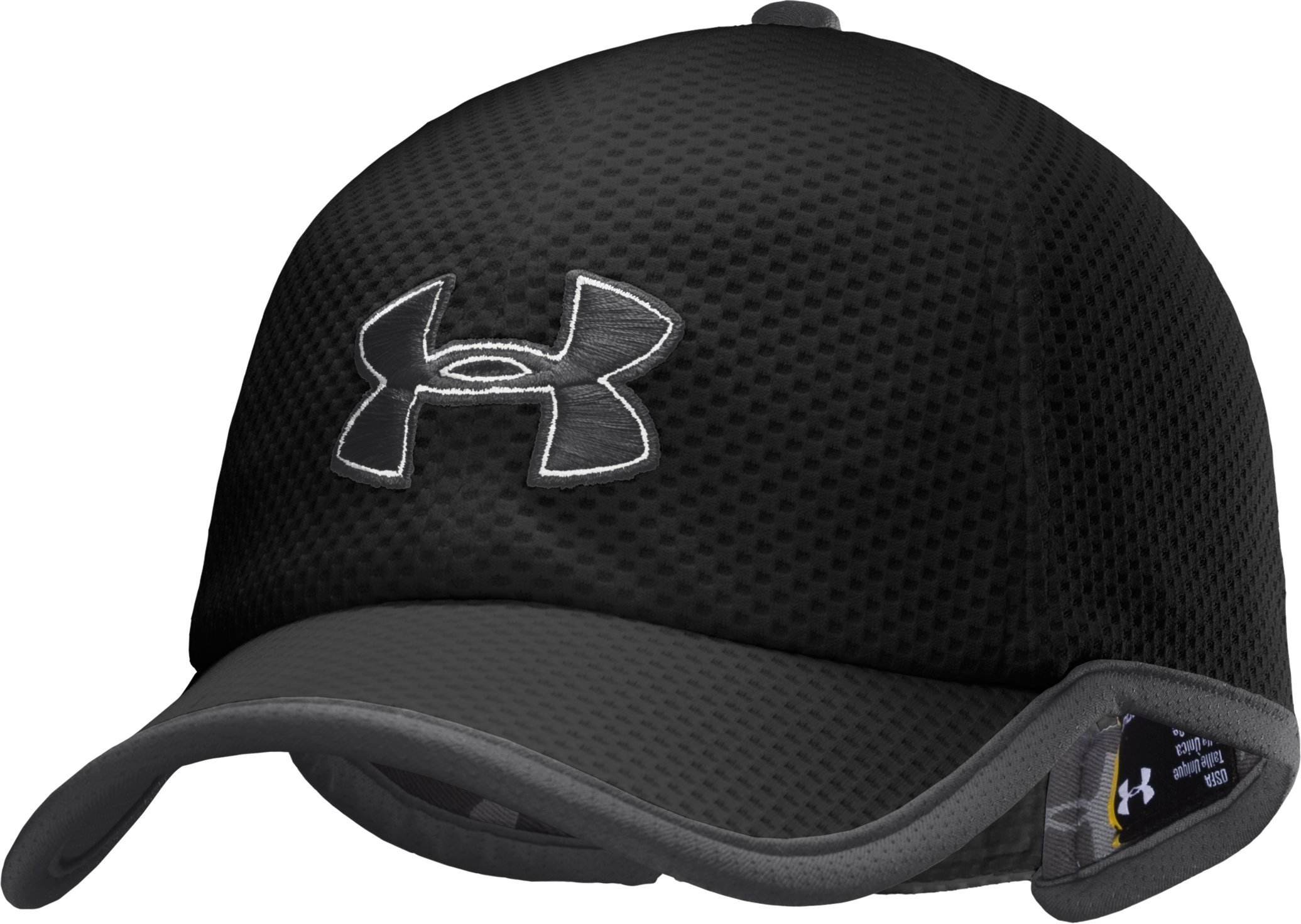 Men's UA Cross Trainer Cap, Black , zoomed image