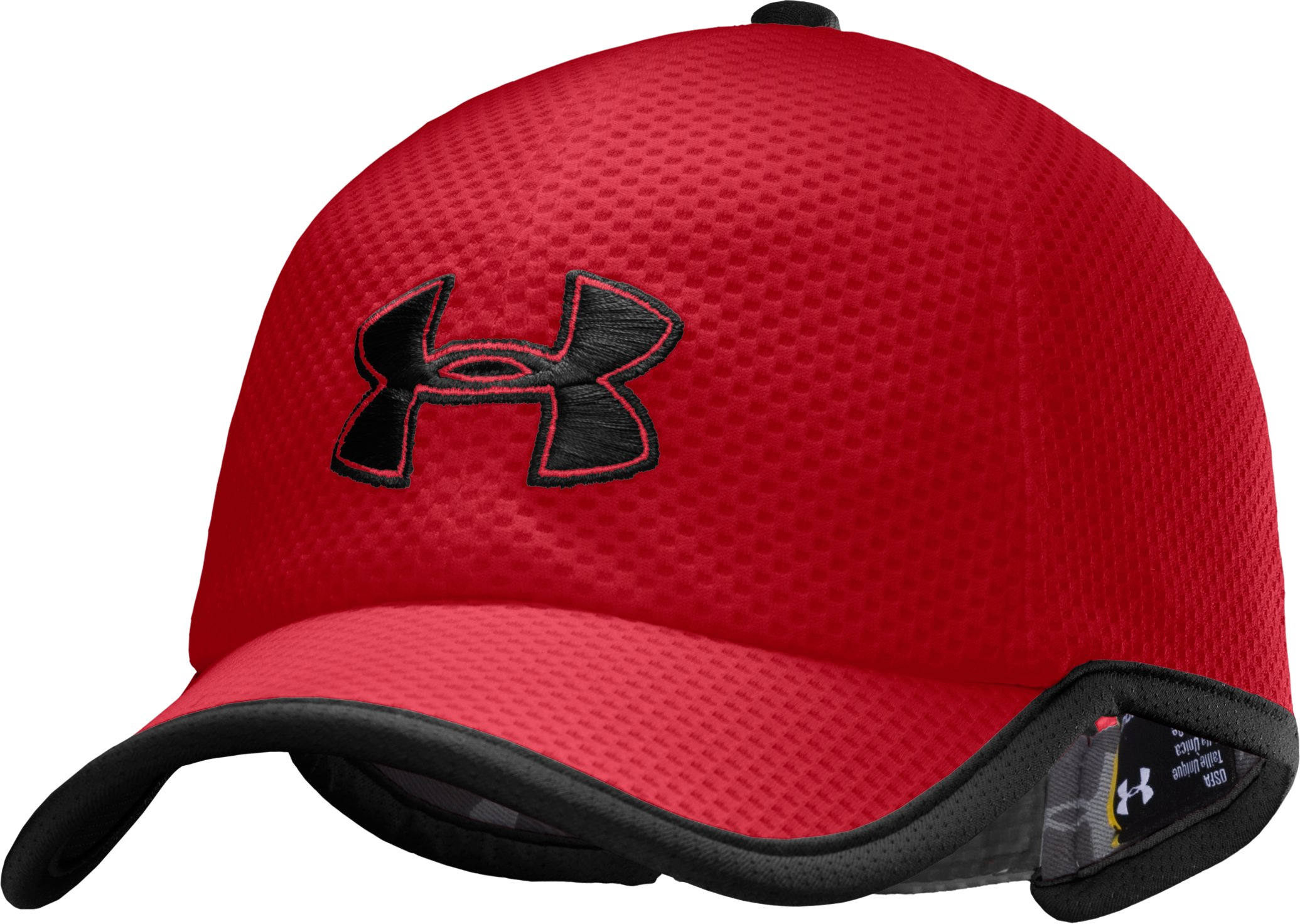 Men's UA Cross Trainer Cap, Red, zoomed image
