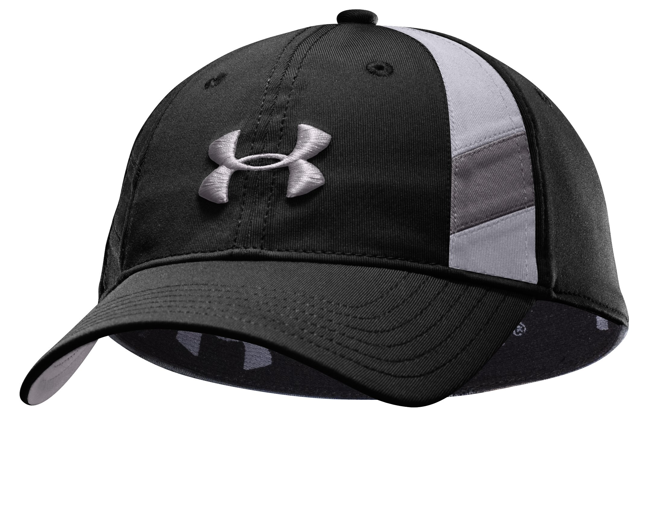 Men's coldblack® Golf Stretch Fit Cap, Black , undefined