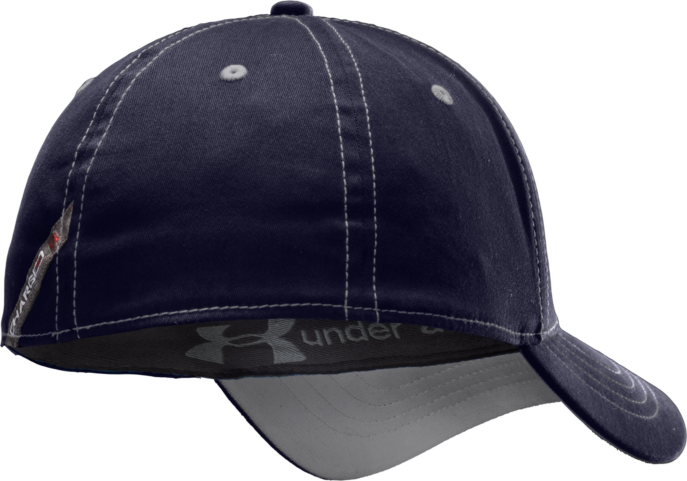 Men's Charged Cotton® Stretch Fit Cap, Midnight Navy