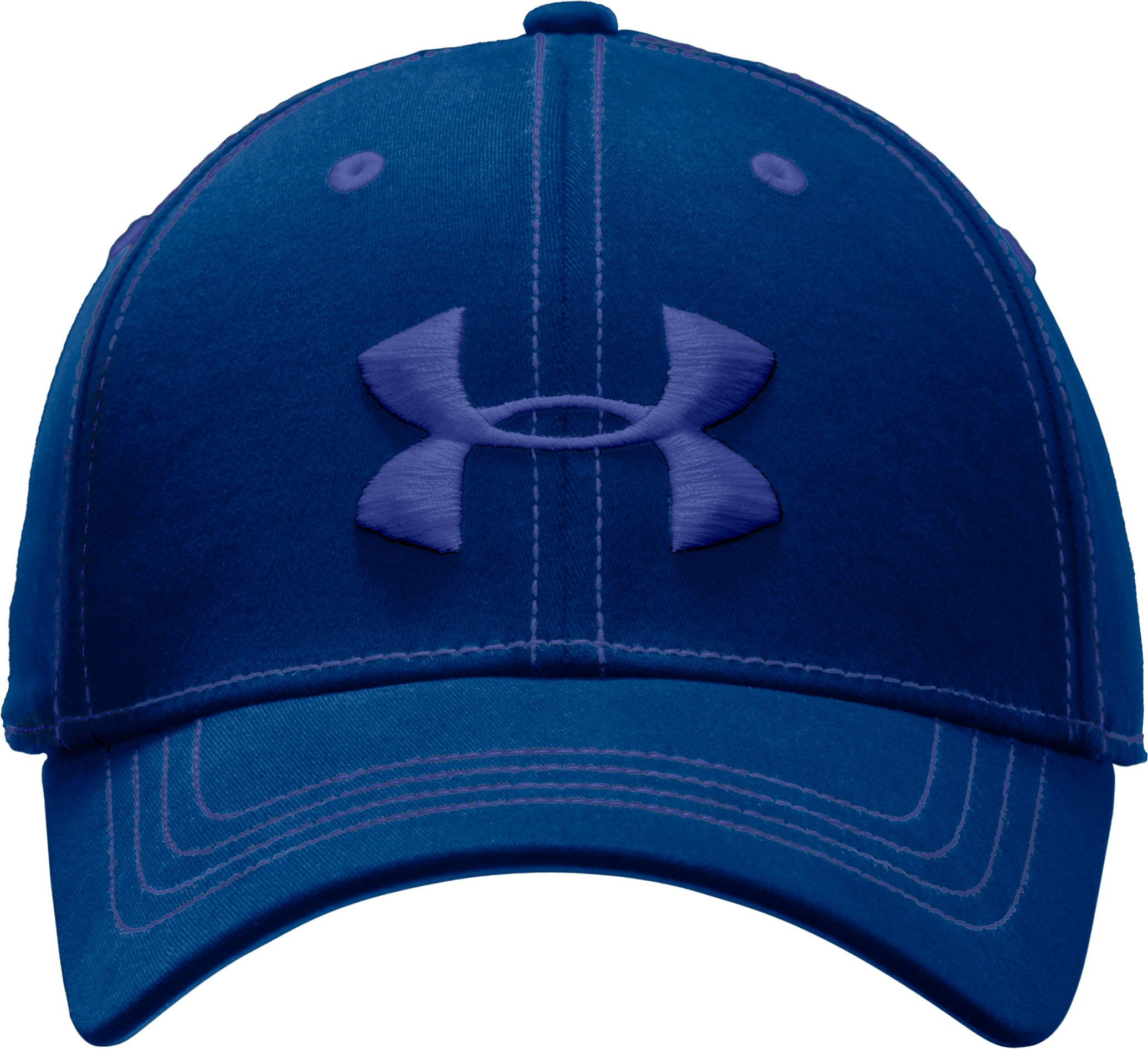 Men's Charged Cotton® Stretch Fit Cap, EMPIRE BLUE