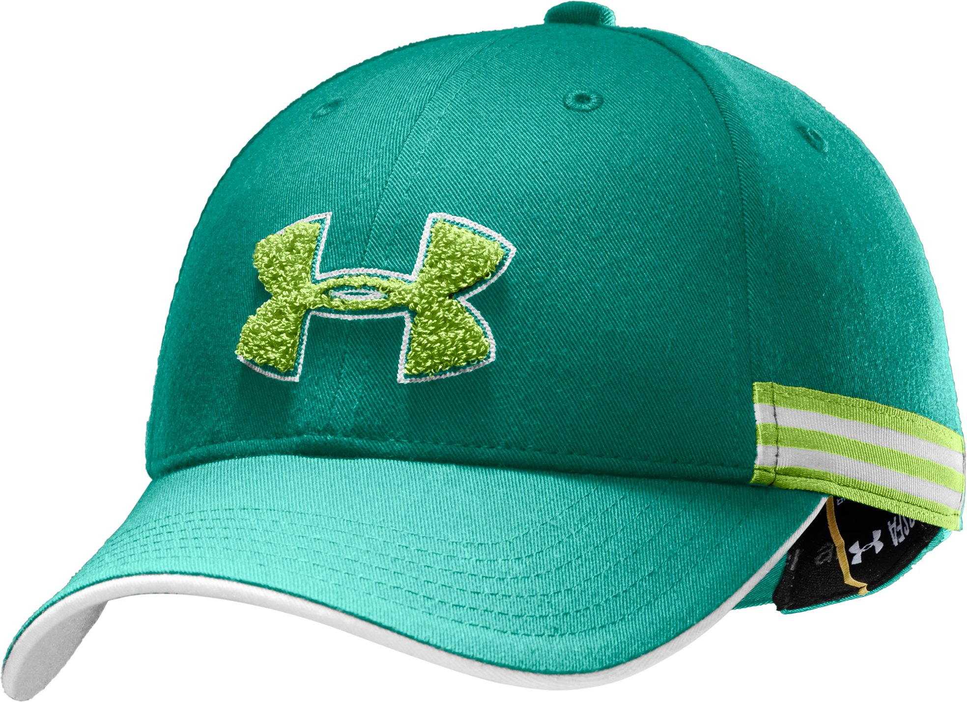UA Team Girl Adjustable Cap, Jade River