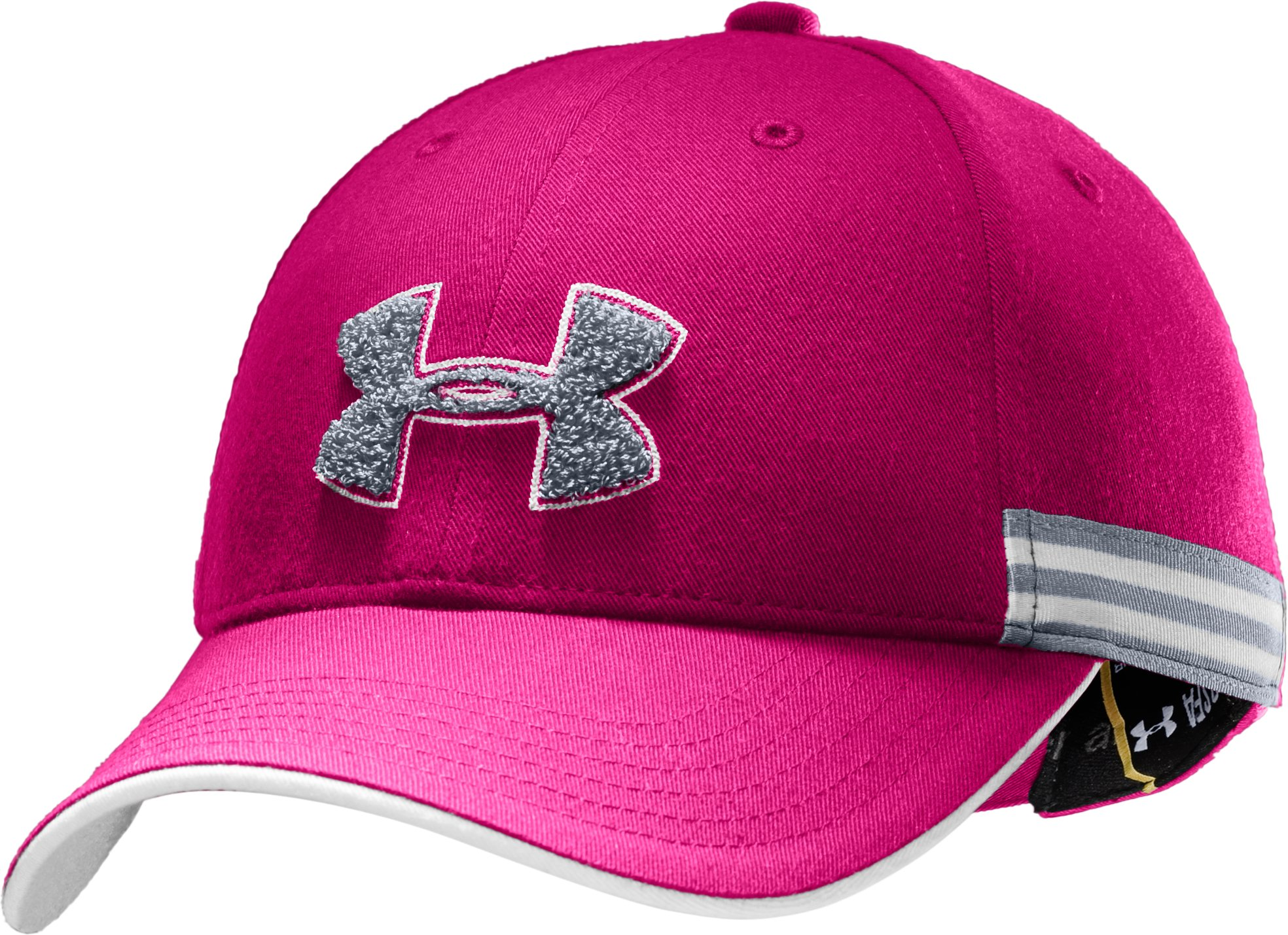 UA Team Girl Adjustable Cap, Rush