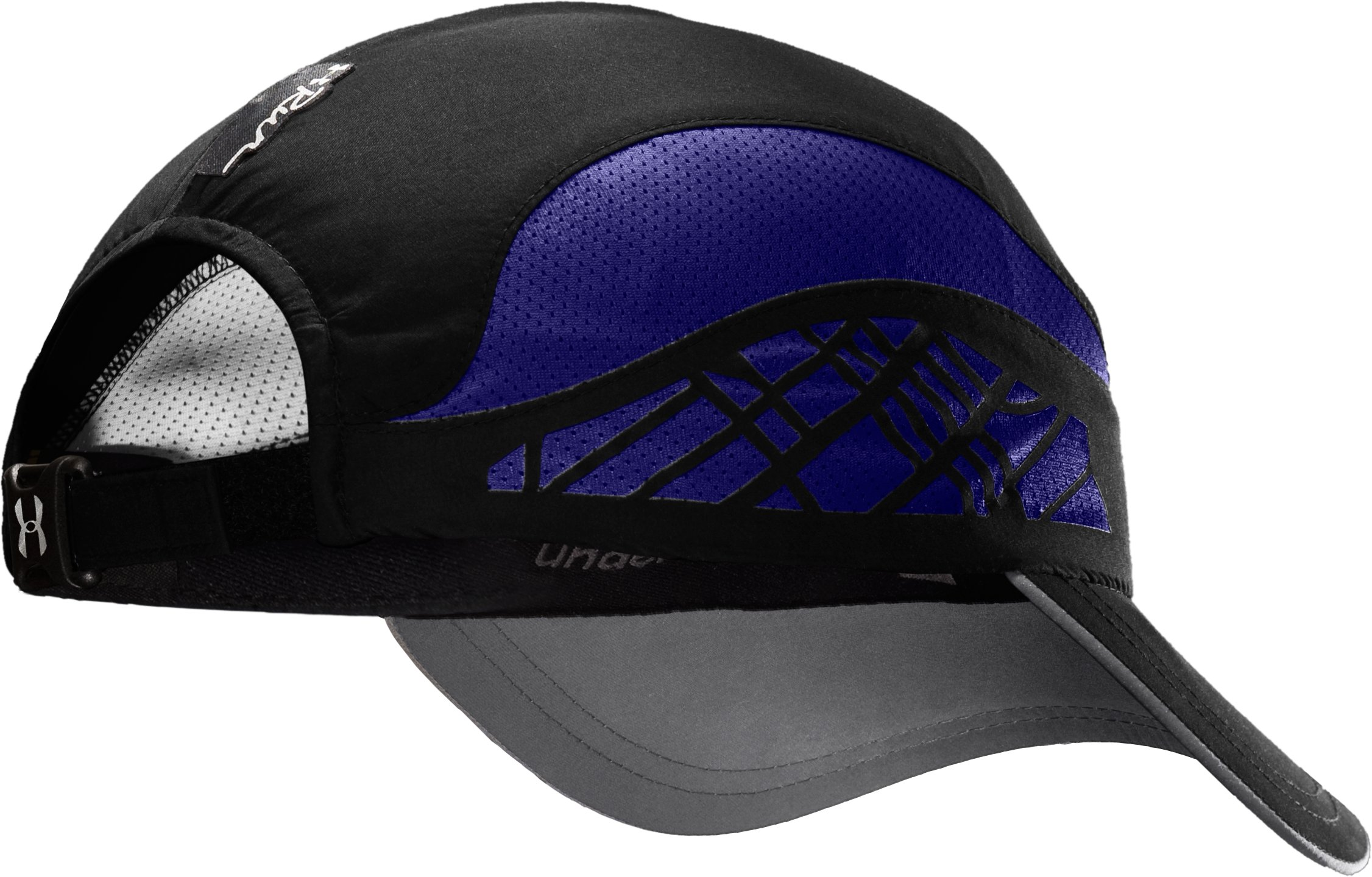 Women's UA Gradient Mesh Run Cap, Black