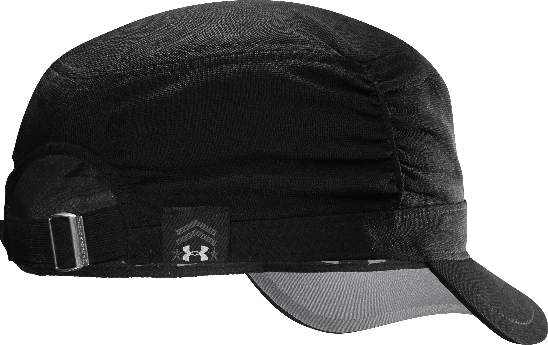 Women's UA Military Ruched Hat, Black
