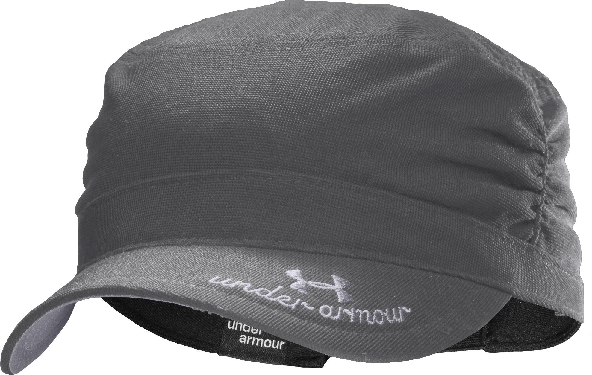 Women's UA Military Ruched Hat, Graphite, undefined