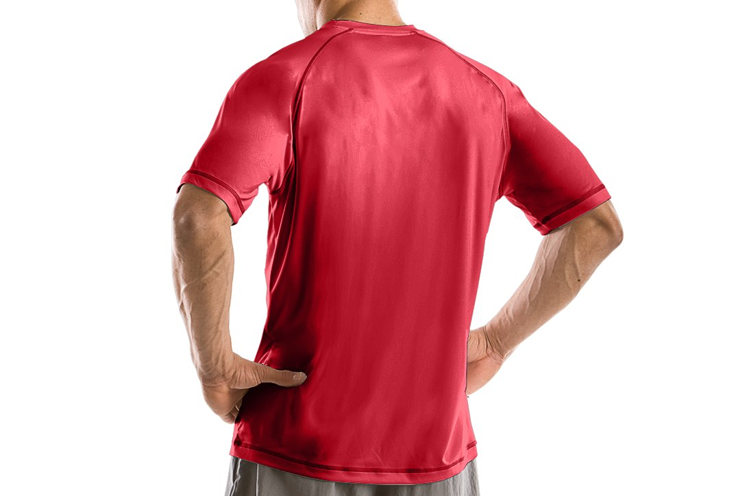 Men's Team UA Catalyst T-Shirt, Red
