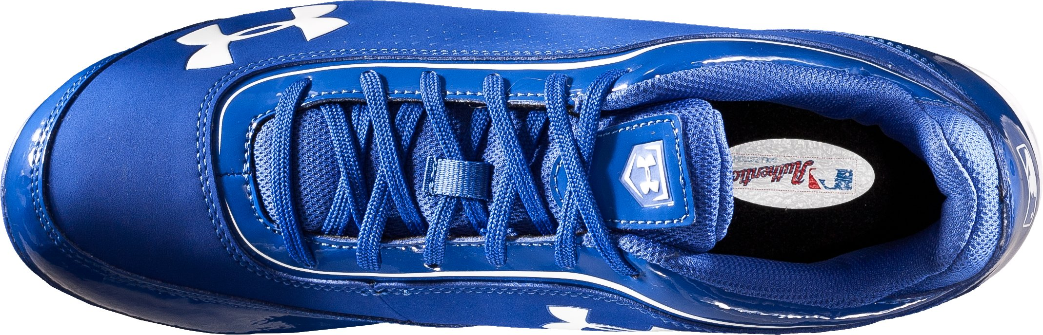 Men's UA Leadoff IV Low-Cut Rubber Baseball Cleats, Diamond Blue, undefined