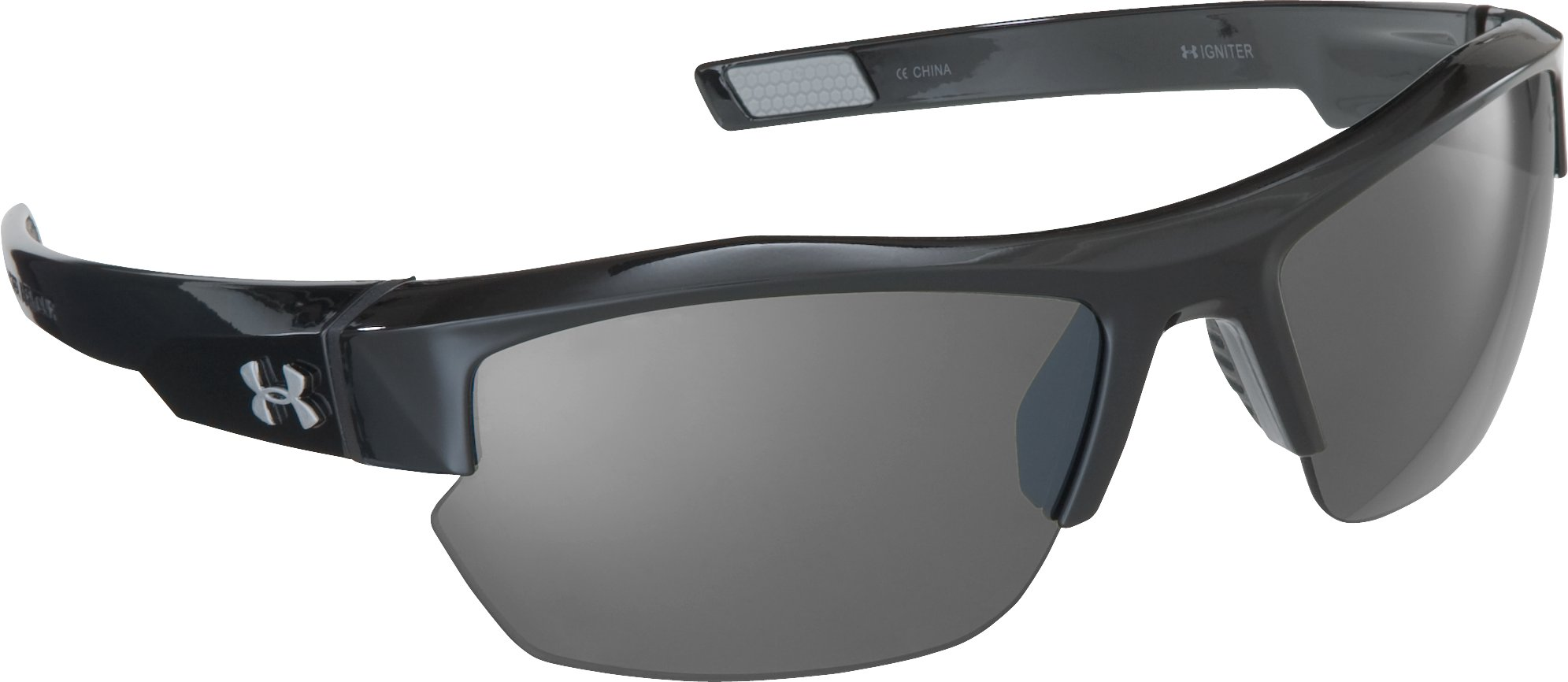 UA Igniter Pro Multiflection™ Sunglasses, Shiny Black