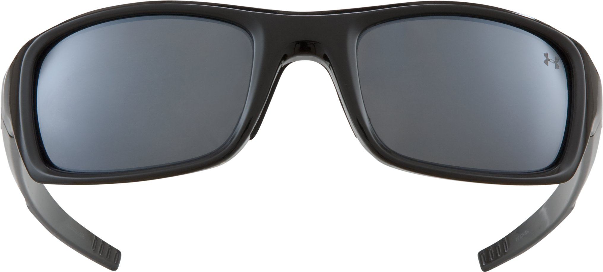 Women's UA Surge Polarized Multiflection™ Sunglasses, Shiny Black, undefined