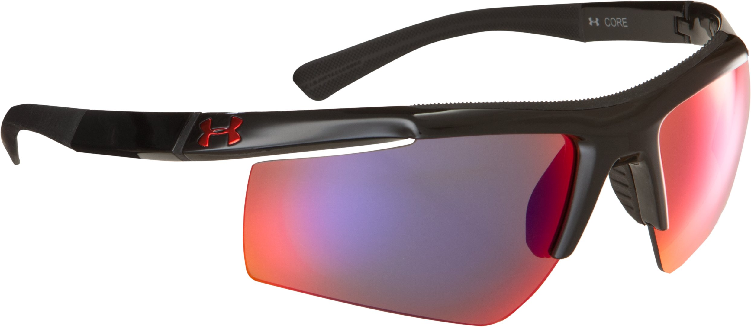 UA Core Sunglasses, Shiny Black