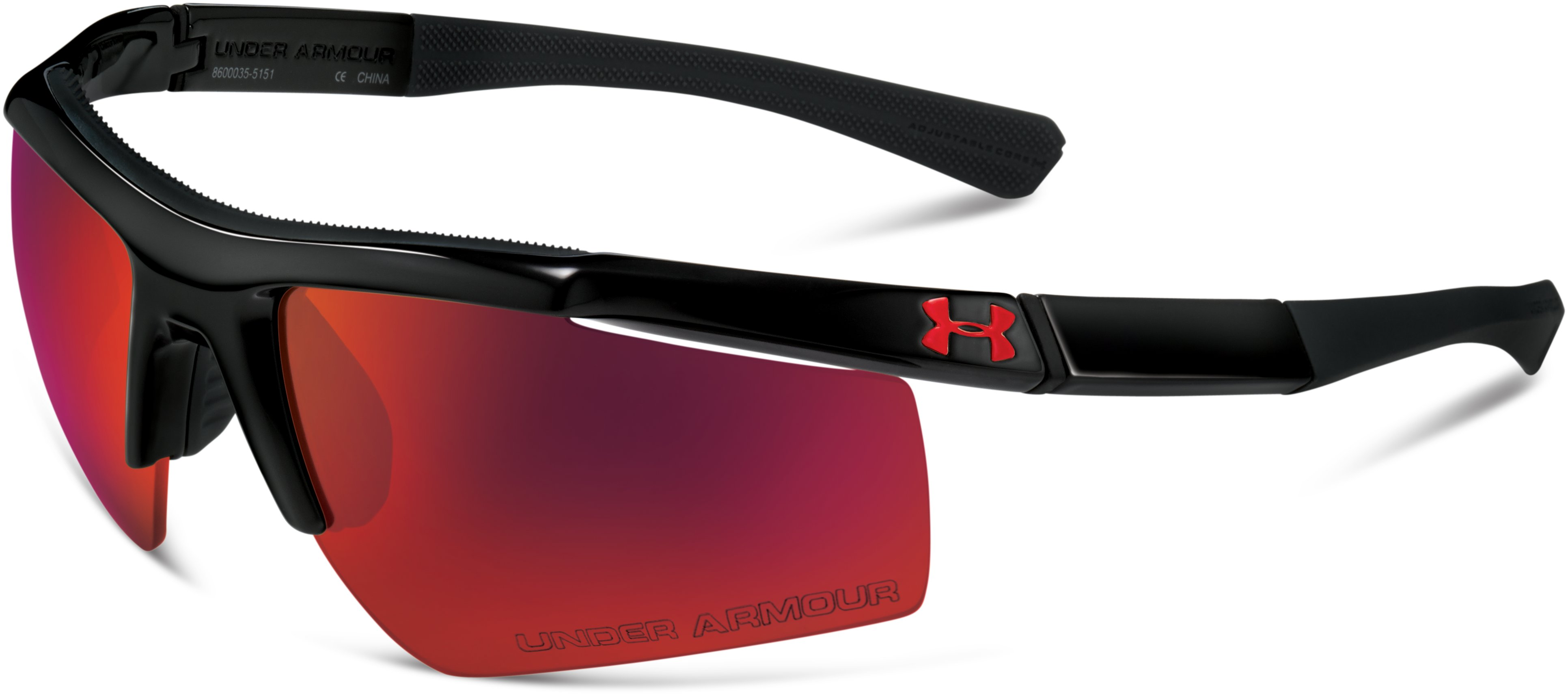 UA Core Sunglasses, Shiny Black, zoomed image
