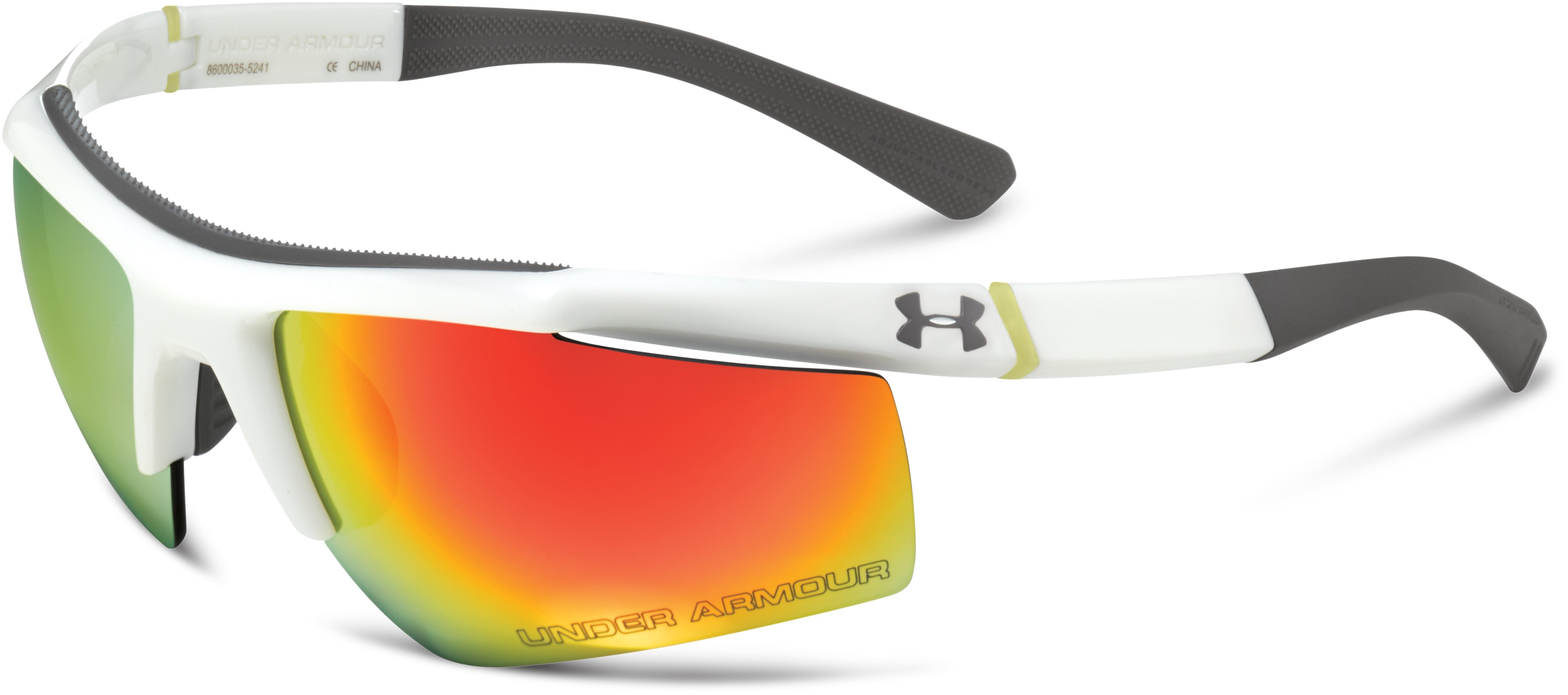 UA Core Sunglasses, Shiny White, zoomed image
