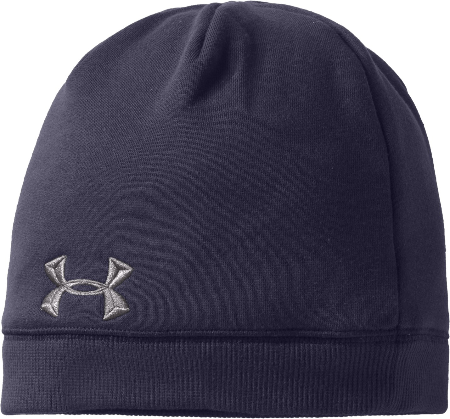 Mens Charged Cotton® Storm Beanie, Midnight Navy, zoomed image