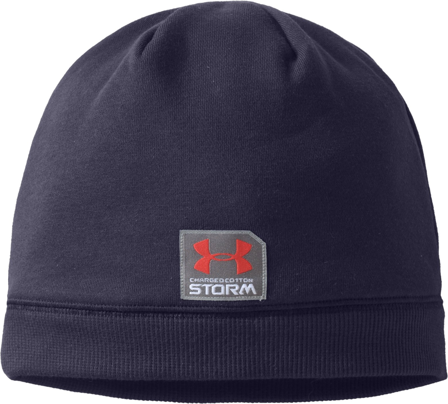 Mens Charged Cotton® Storm Beanie, Midnight Navy