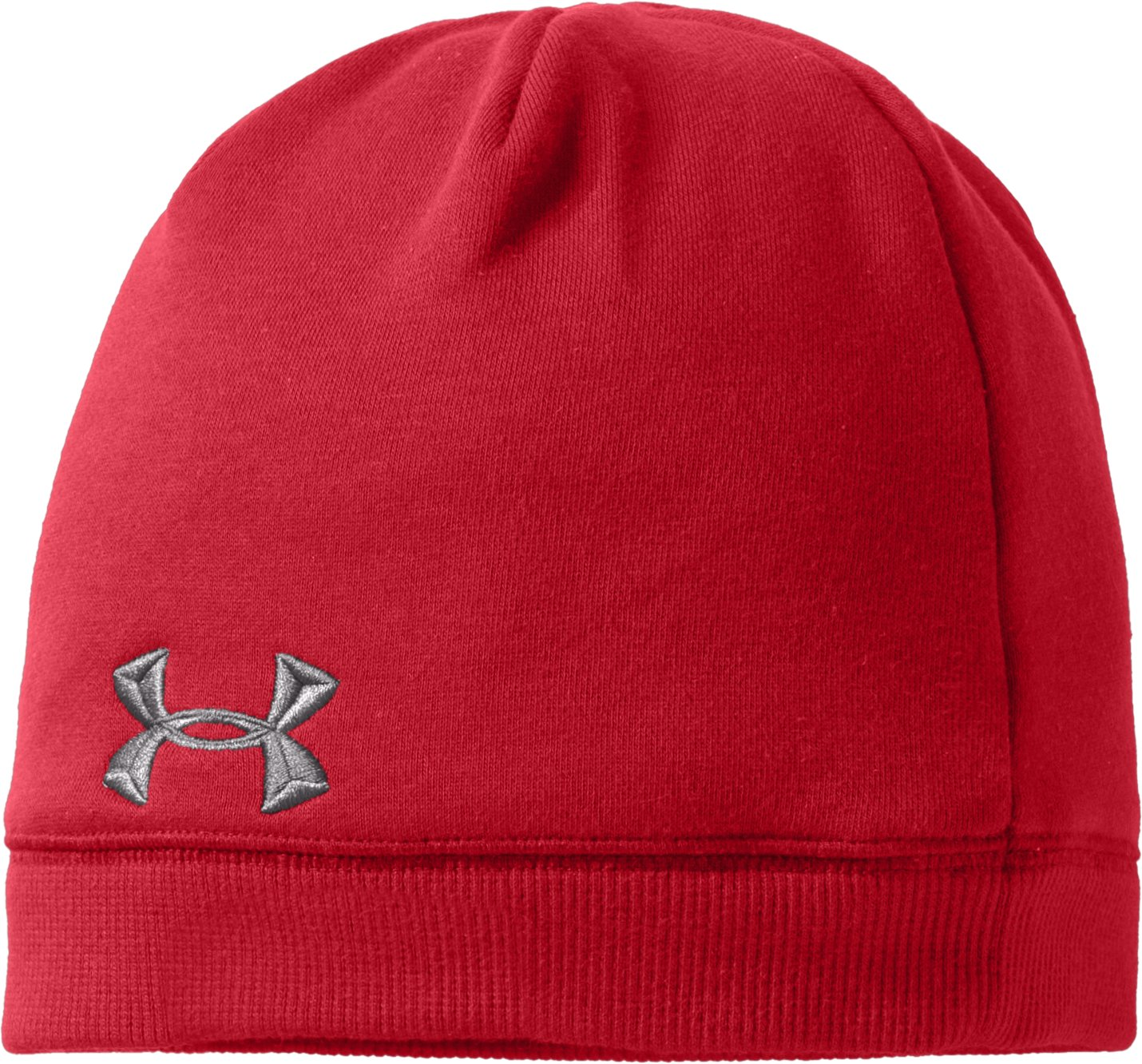 Mens Charged Cotton® Storm Beanie, Red,