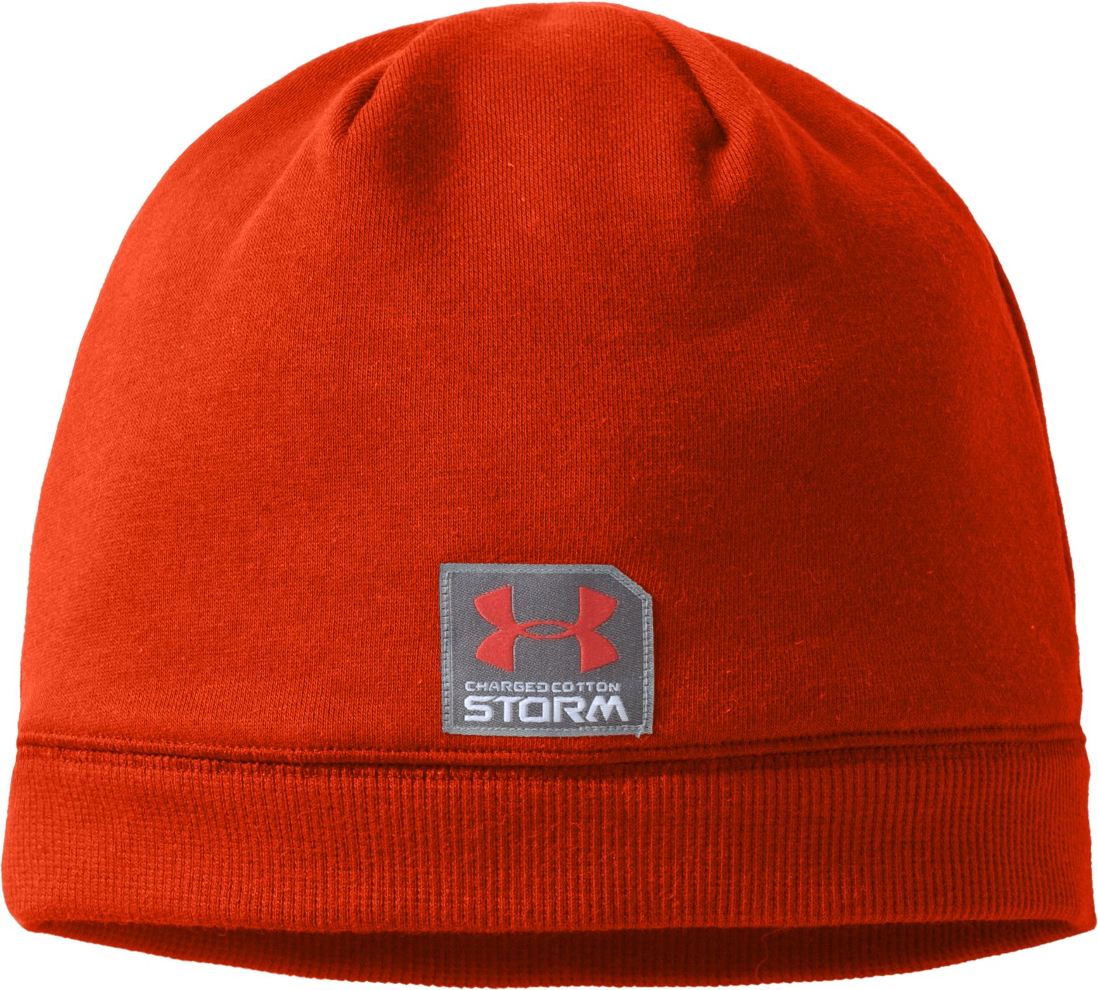 Mens Charged Cotton® Storm Beanie, Explosive
