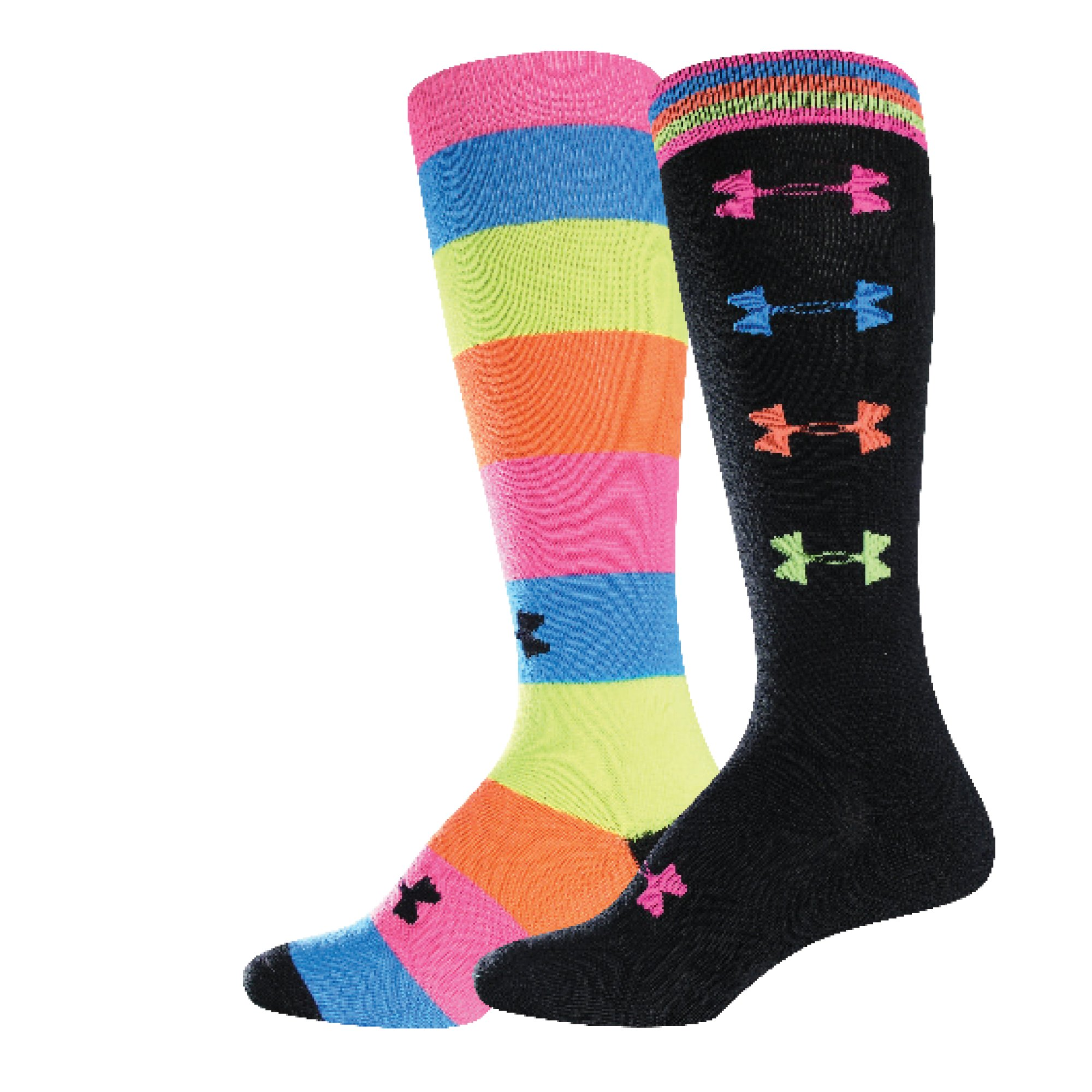 Women's Recur OTC Socks, Black , zoomed image