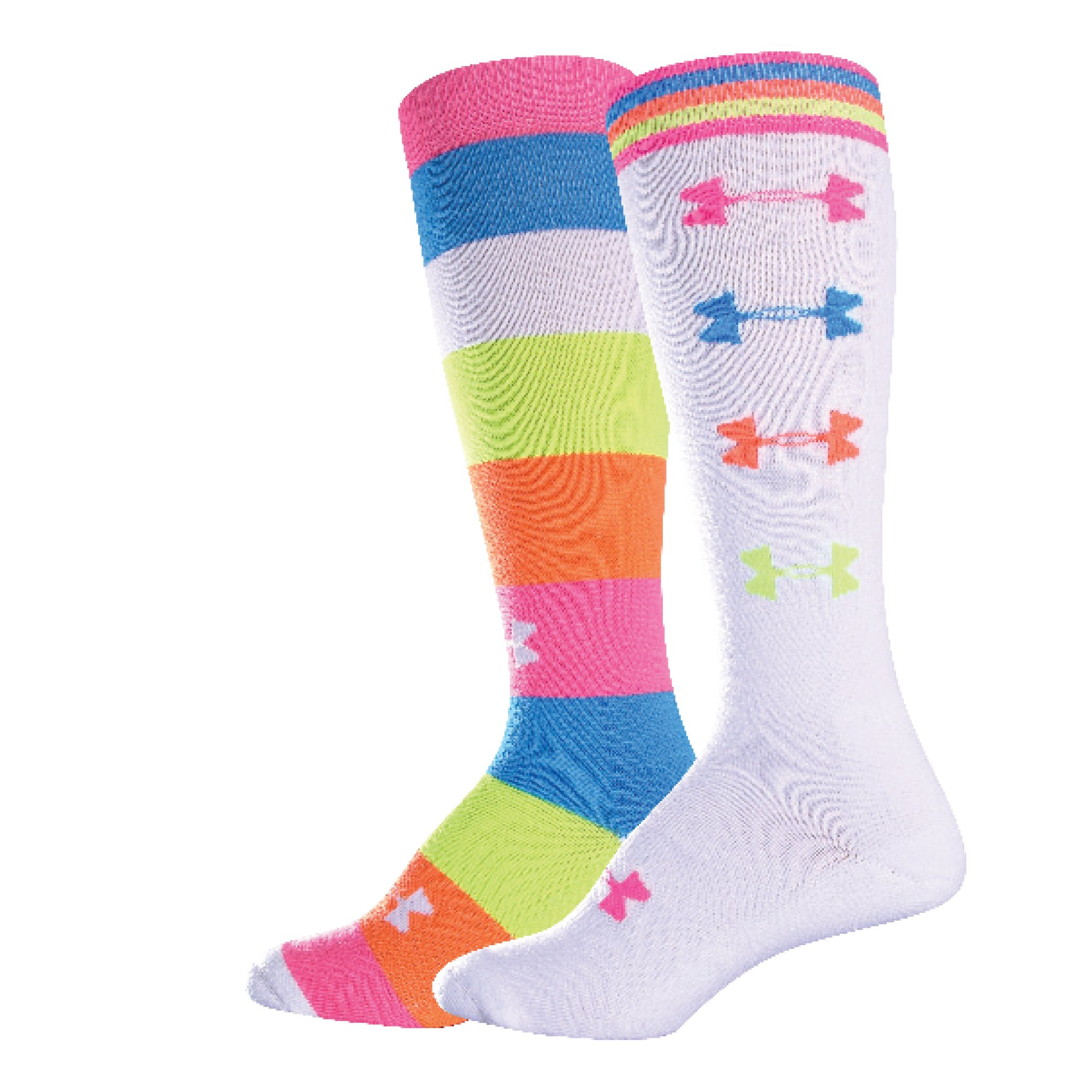 Women's Recur OTC Socks, White