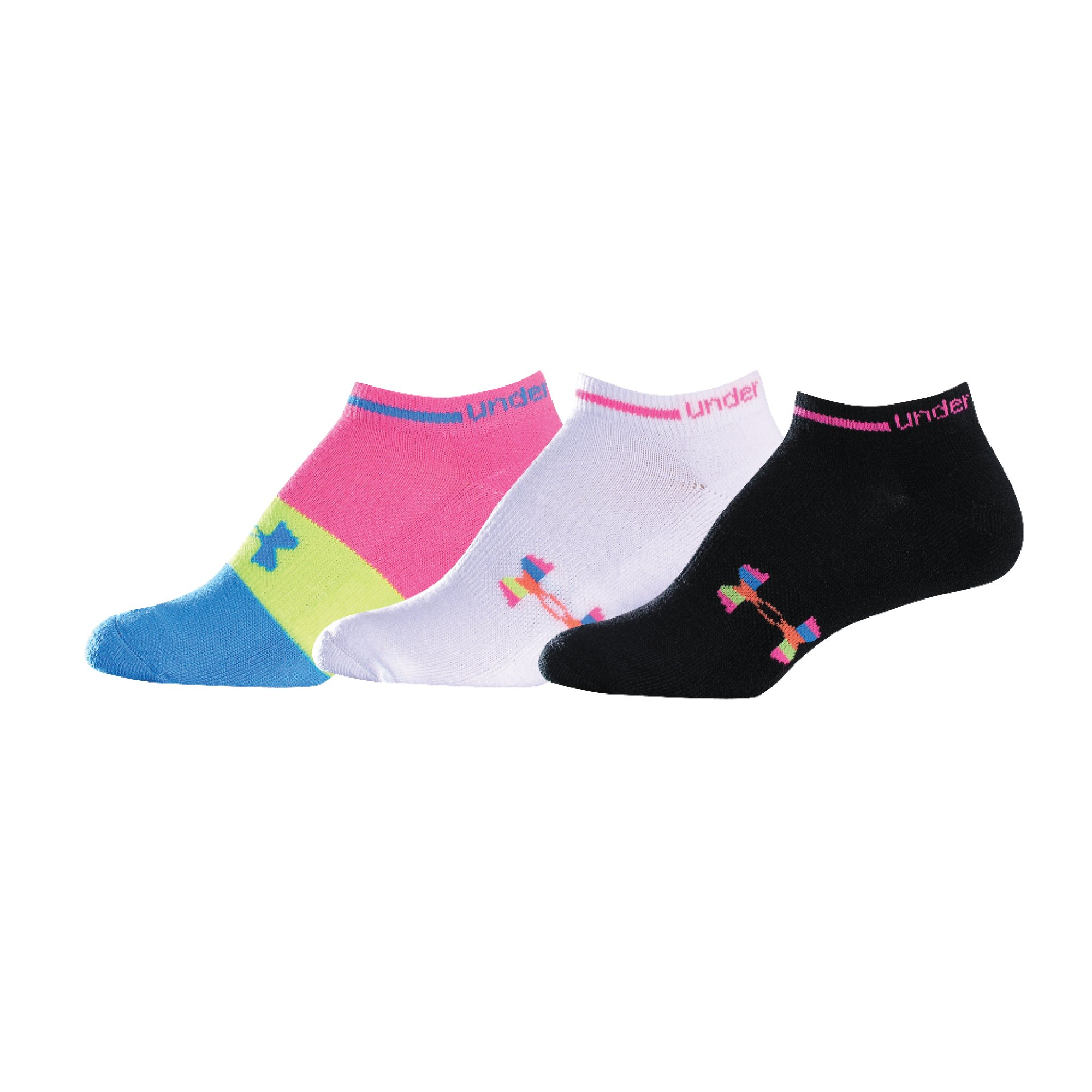 Women's Recur No-Show Socks, White, zoomed image