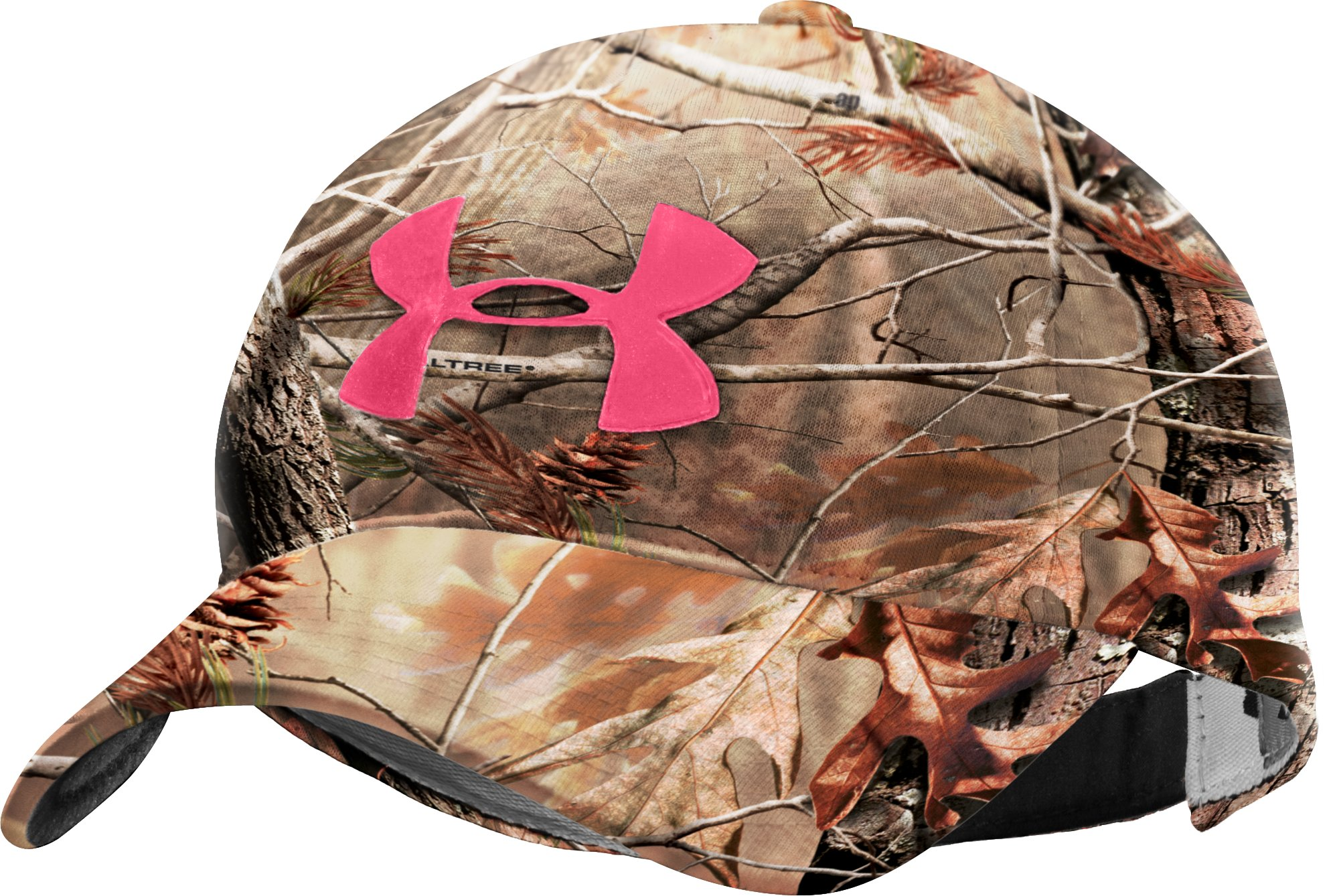 Women's UA Camo Logo Adjustable Hat, Realtree AP