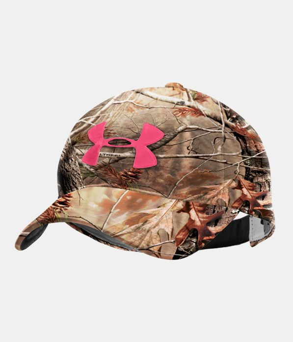 Women s UA Camo Logo Adjustable Hat  f87e1ee020f4