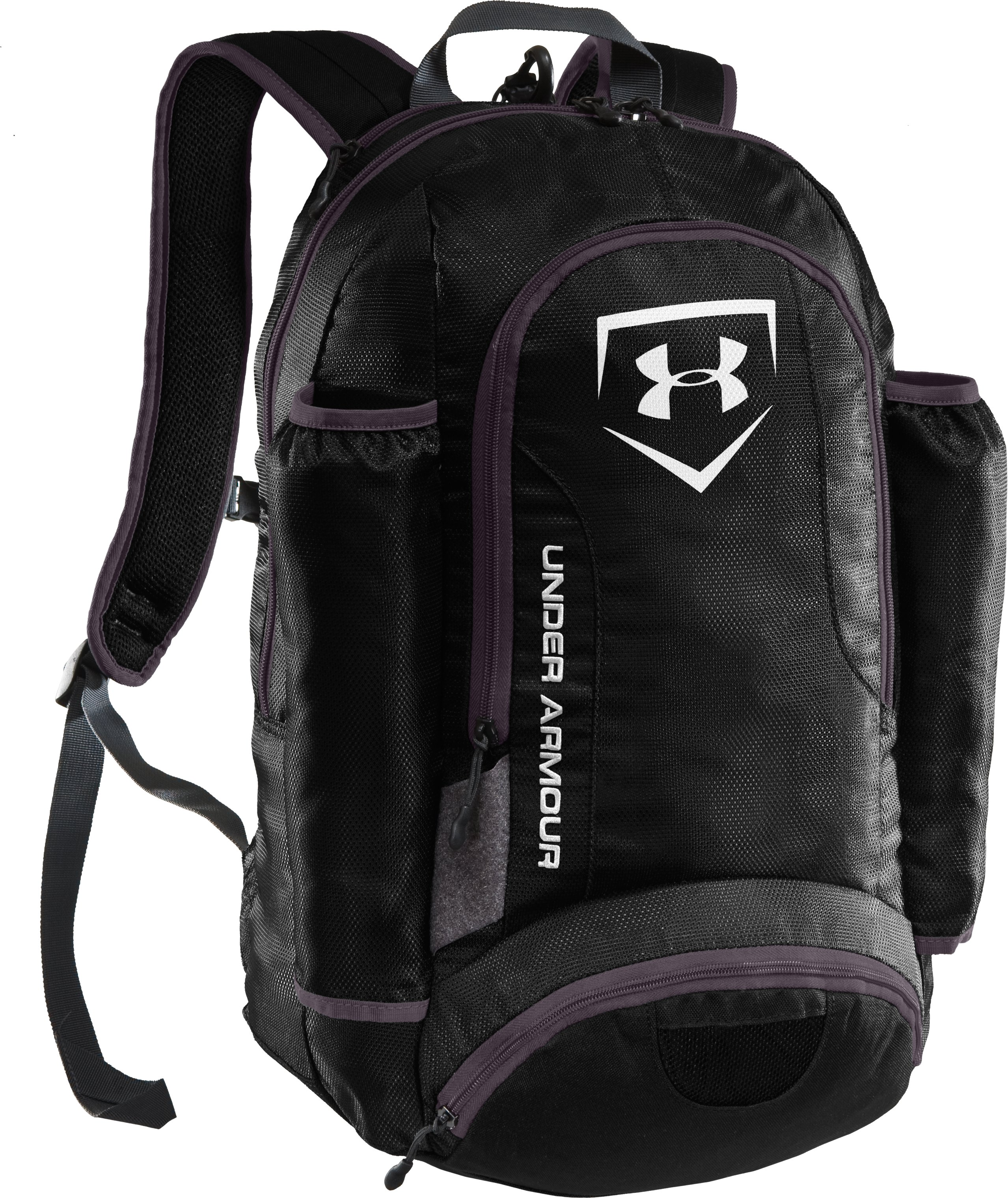 UA Sweep Baseball Bat Pack, Black