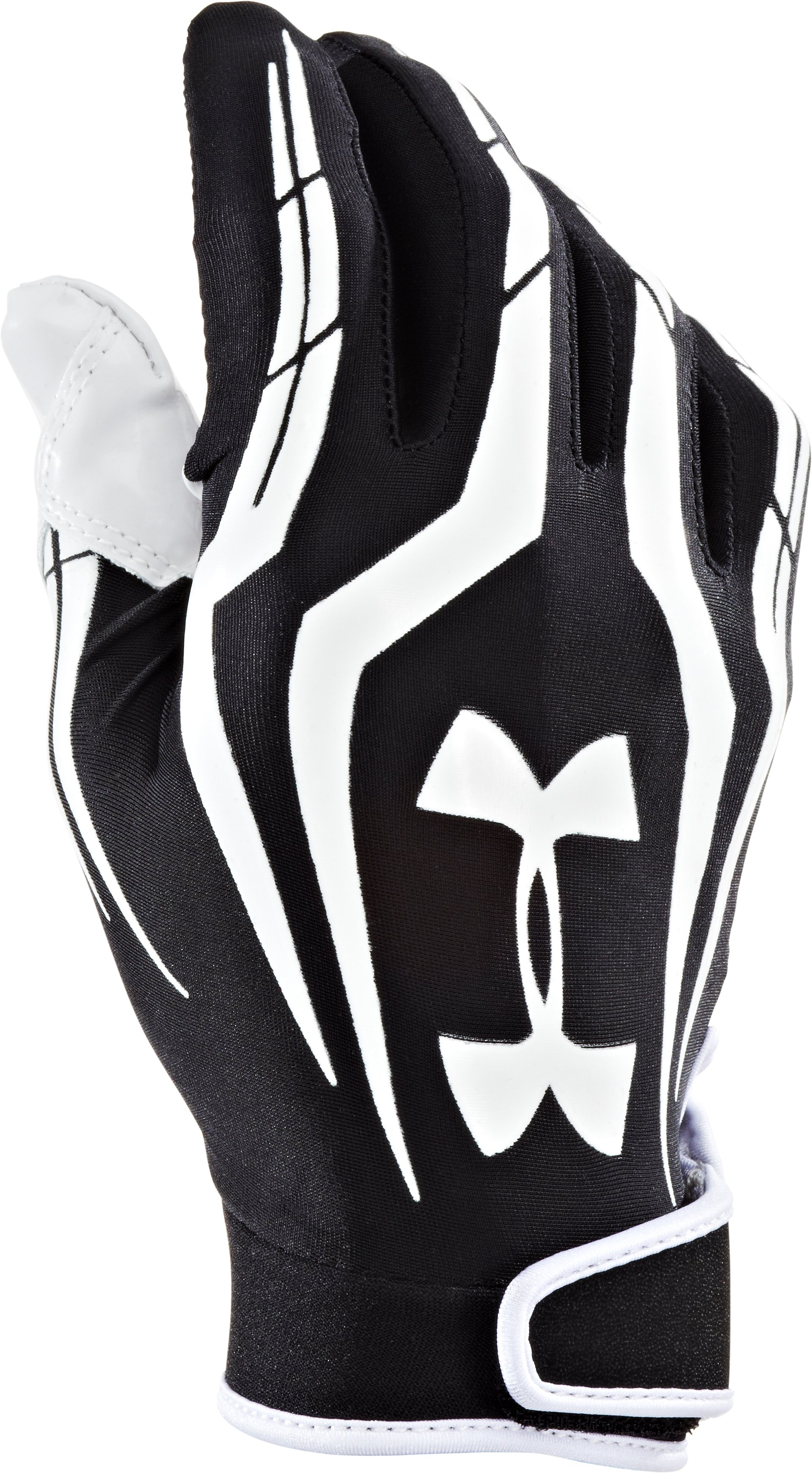 Men's UA F3 Full Finger Football Gloves, Black