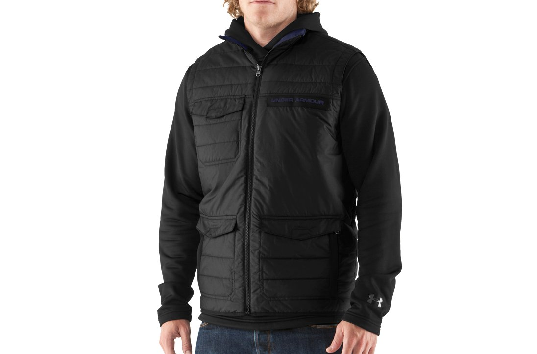 Men's UA Wolfe Vest, Black