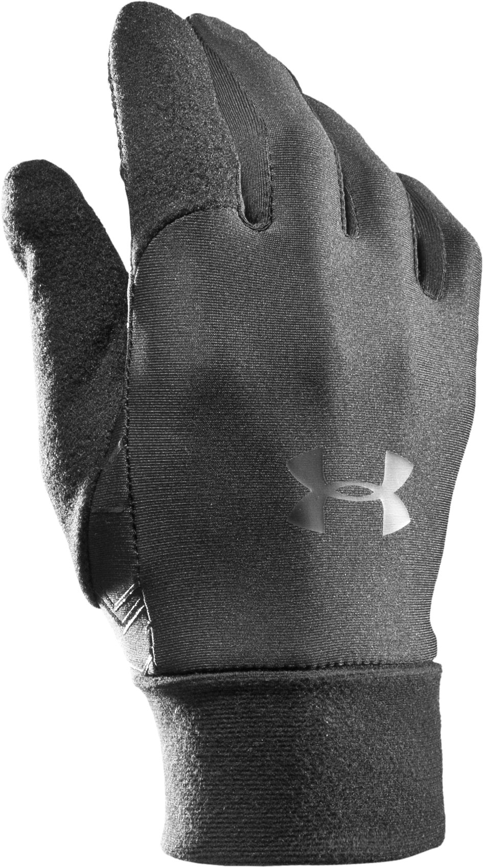 Men's UA Tactical Liner Gloves, Black , zoomed image