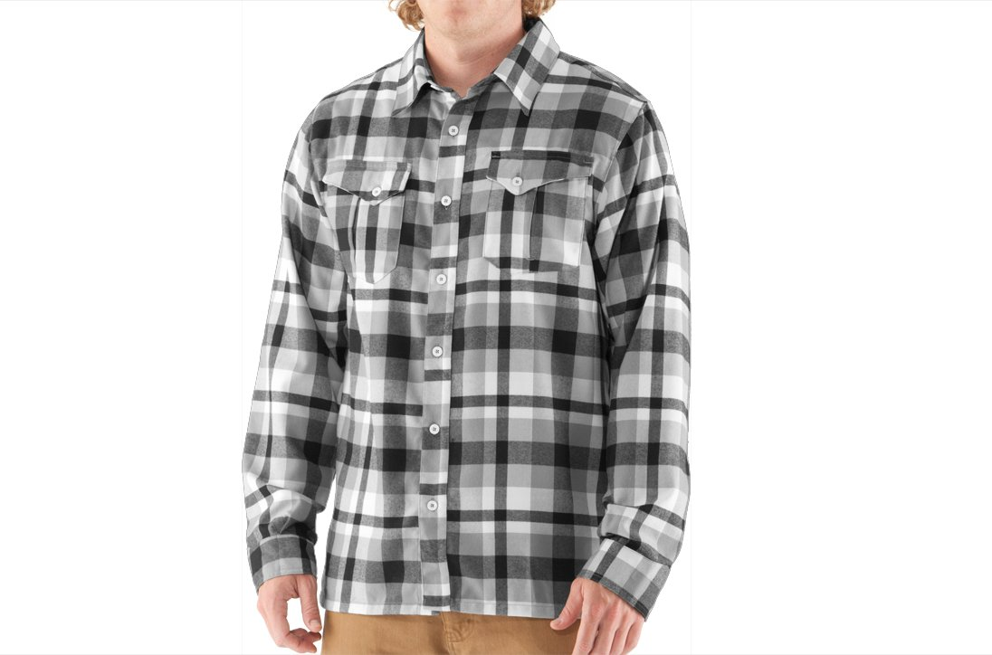Men's UA Legit II Flannel, Black