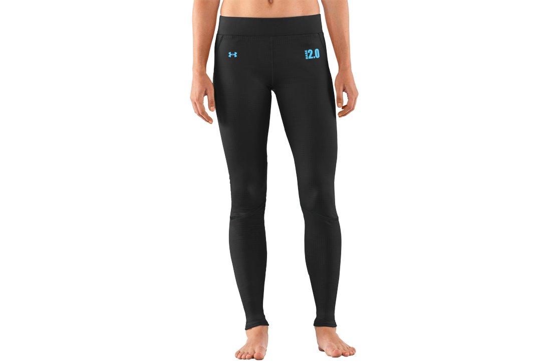 Women's UA Base™ 2.0 Leggings, Black , zoomed image