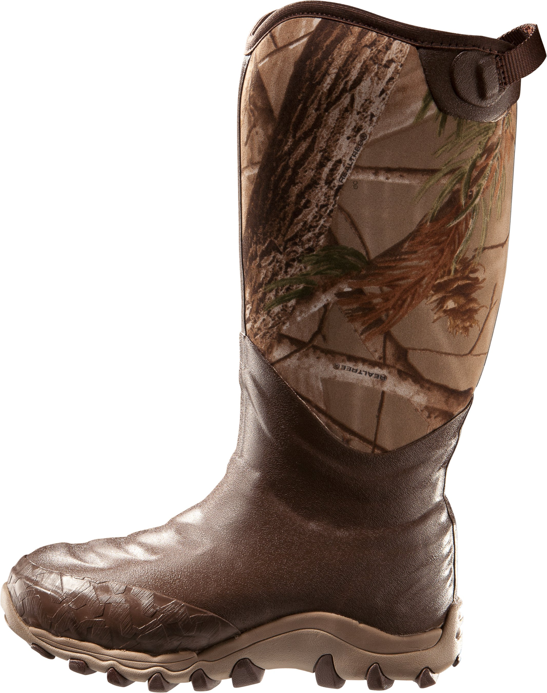 Men's UA H.A.W. 800g Hunting Boots, Realtree AP