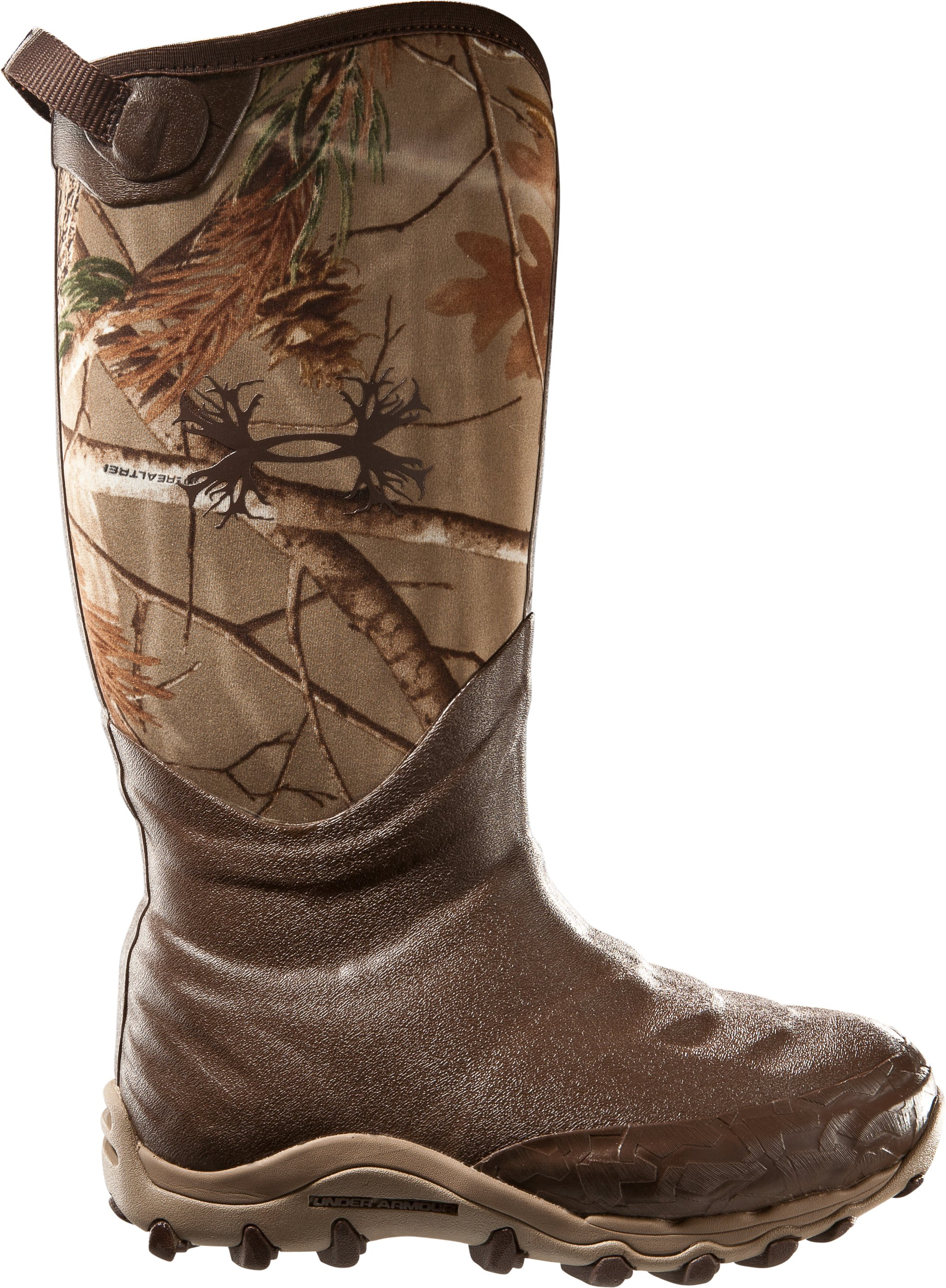 Men's UA H.A.W. 800g Hunting Boots, Realtree AP, undefined