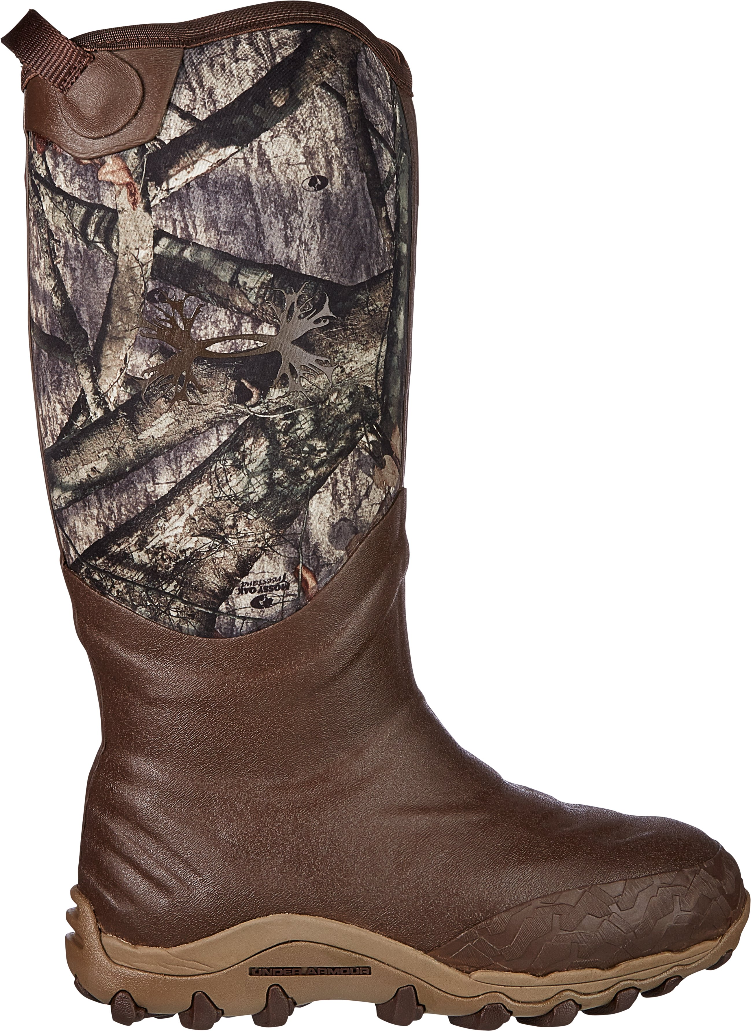 Men's UA H.A.W. 800g Hunting Boots, Mossy Oak Treestand, zoomed image