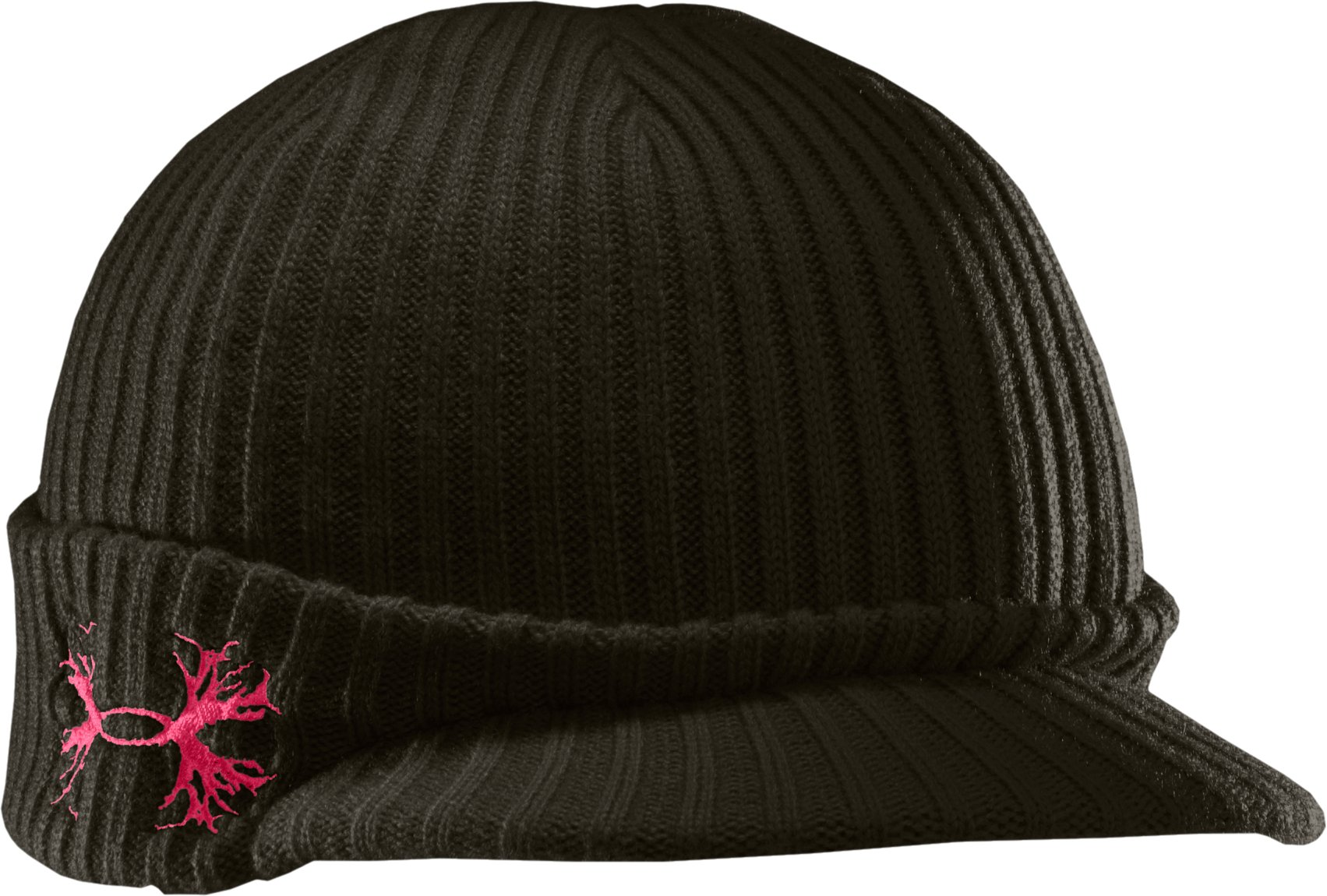Women's UA Brimmed Beanie, Rifle Green, zoomed image