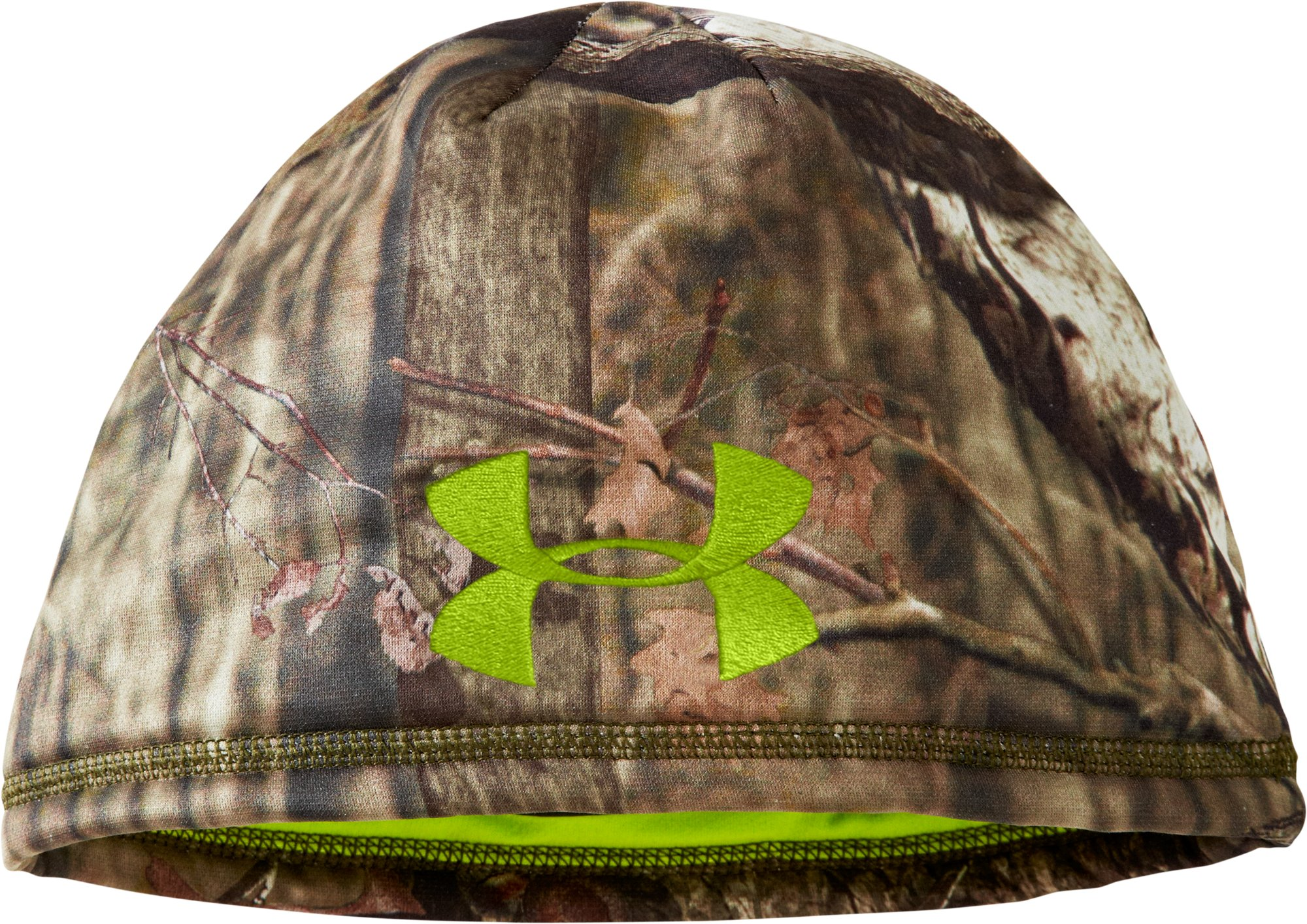 Men's UA Deadcalm Beanie, Mossy Oak Break-Up Infinity, zoomed image