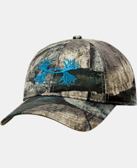 Men's UA Camo Antler Logo Cap  1 Color $14.99