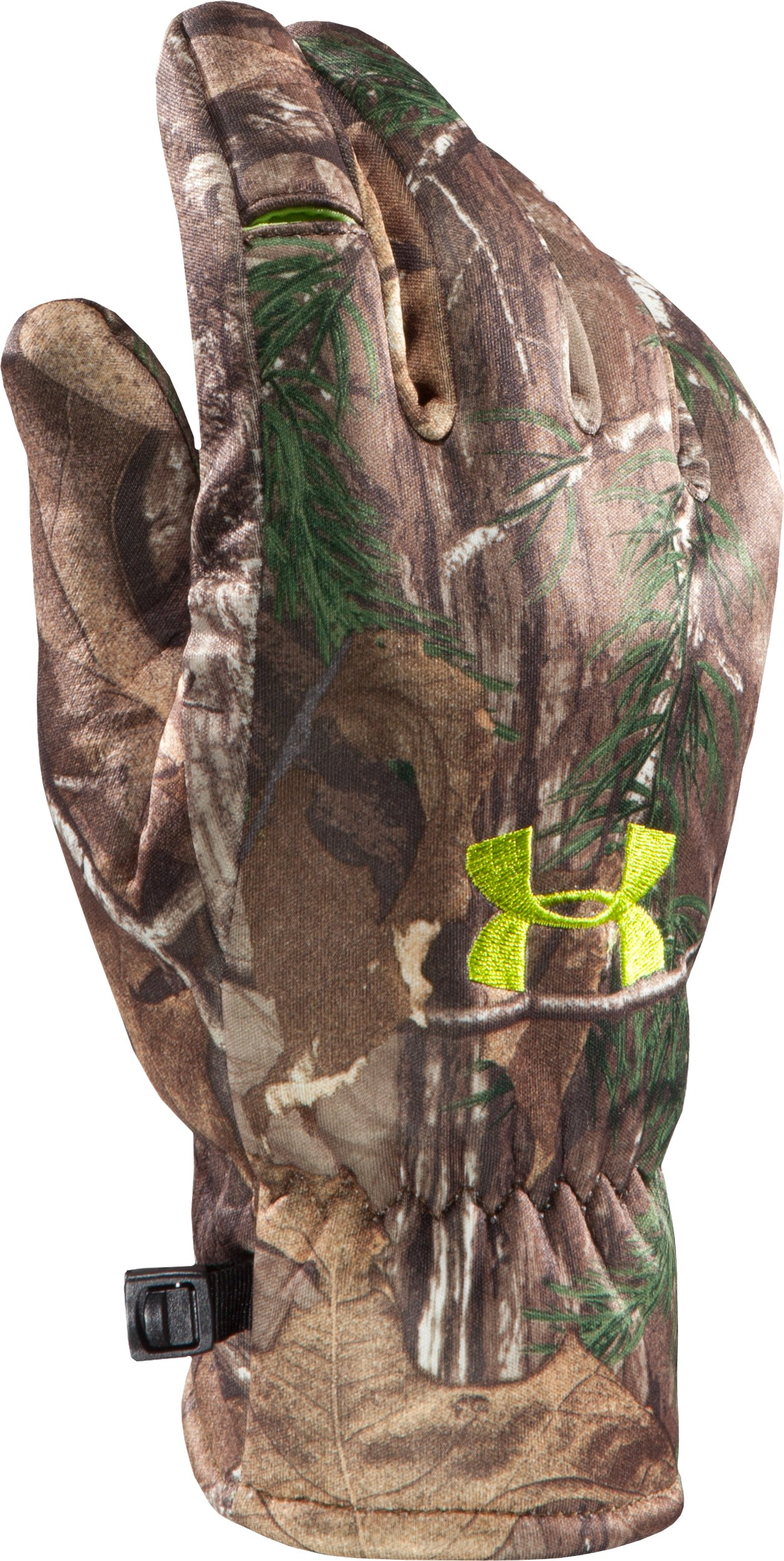 Men's UA Deadcalm Glove, REALTREE AP-XTRA, zoomed image