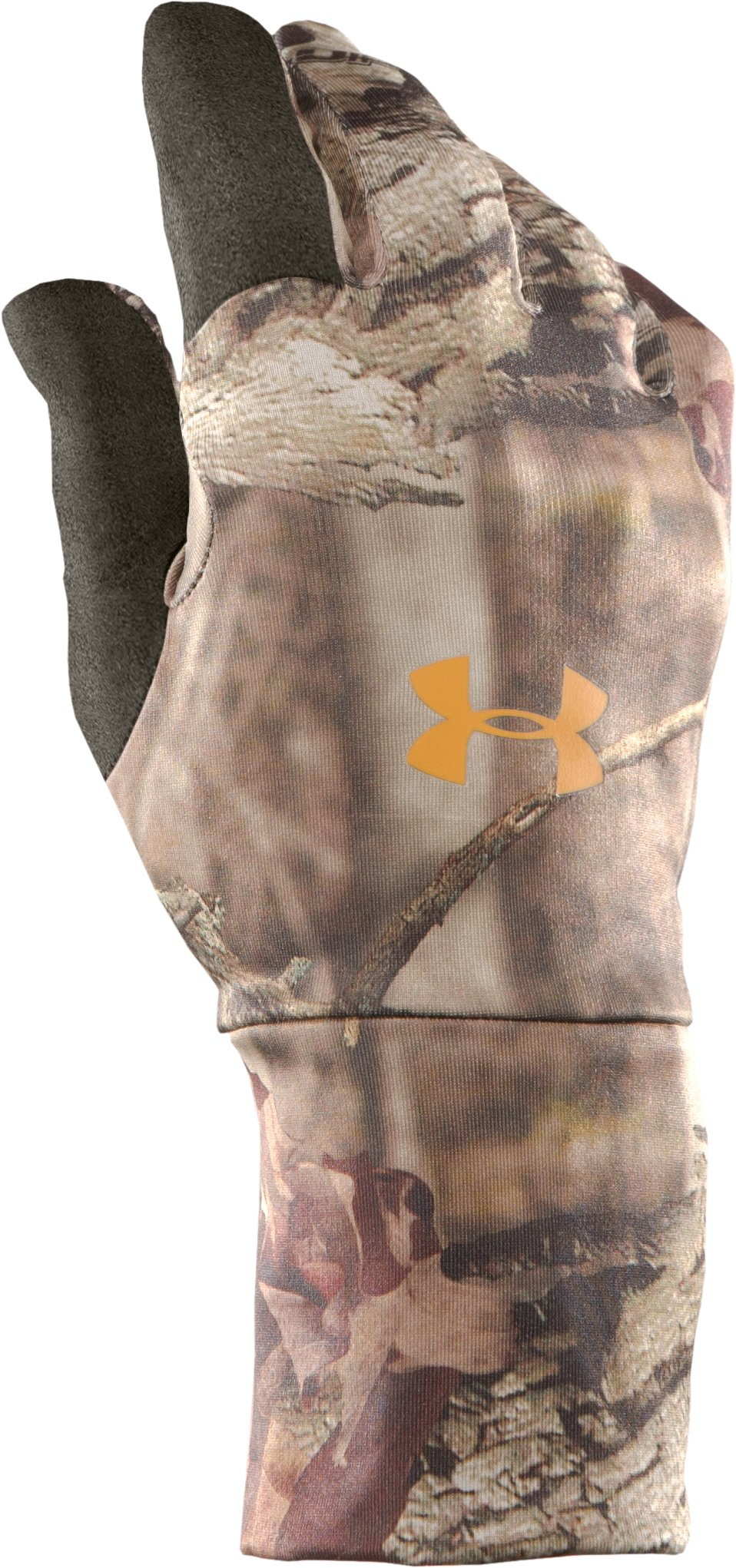 Men's UA Scent Control Liner Gloves, Mossy Oak Break-Up Infinity, zoomed image