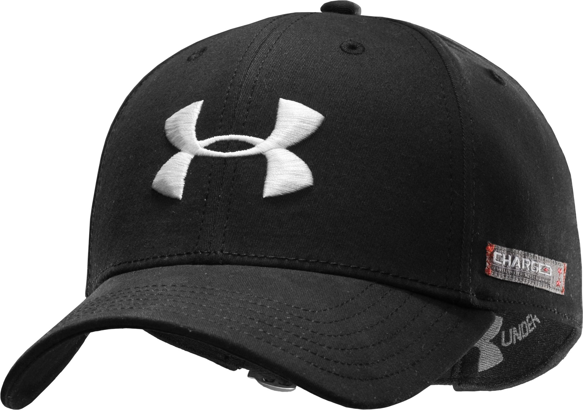 Men's Charged Cotton® Adjustable Cap, Black
