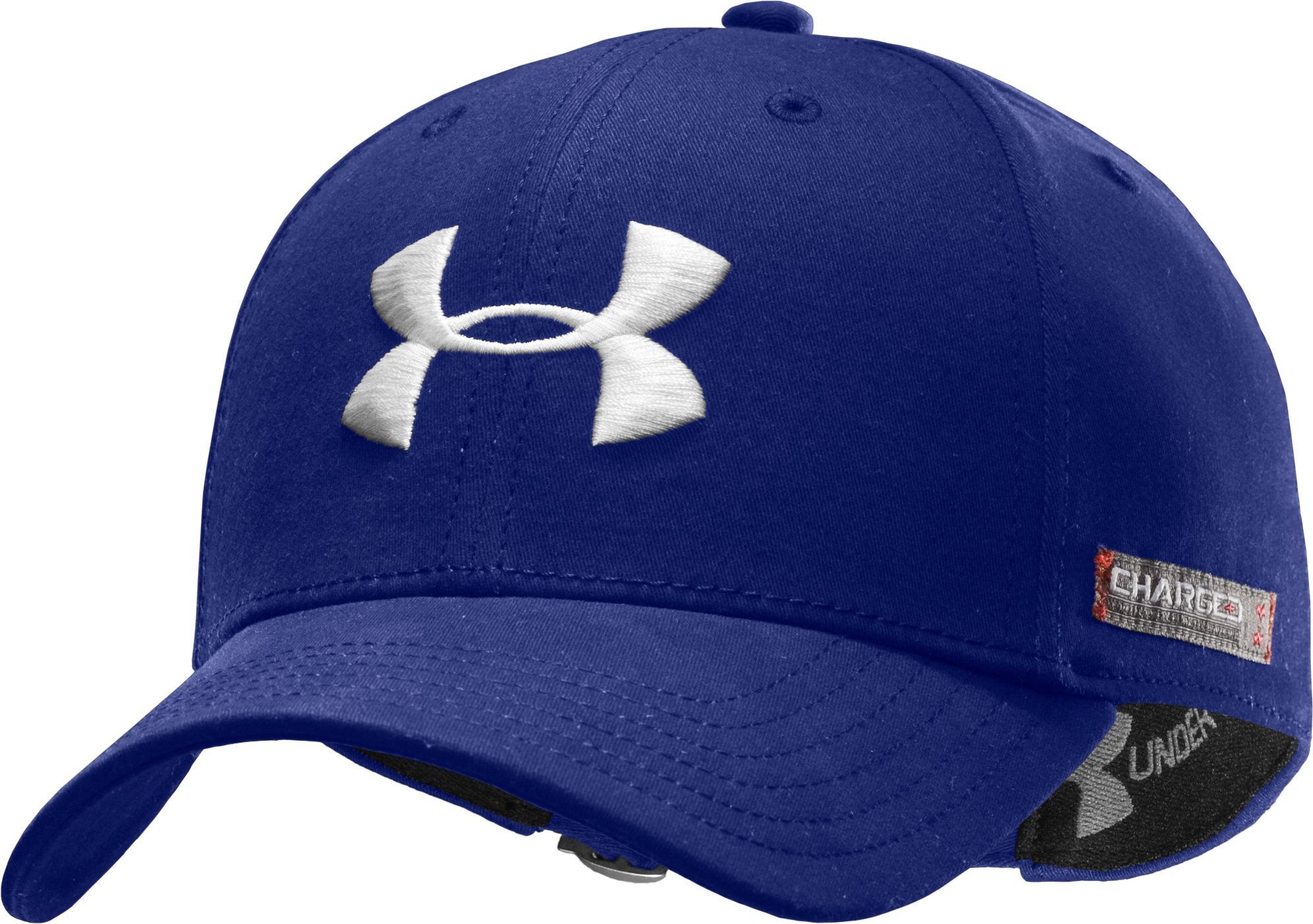 Men's Charged Cotton® Adjustable Cap, Royal, zoomed image