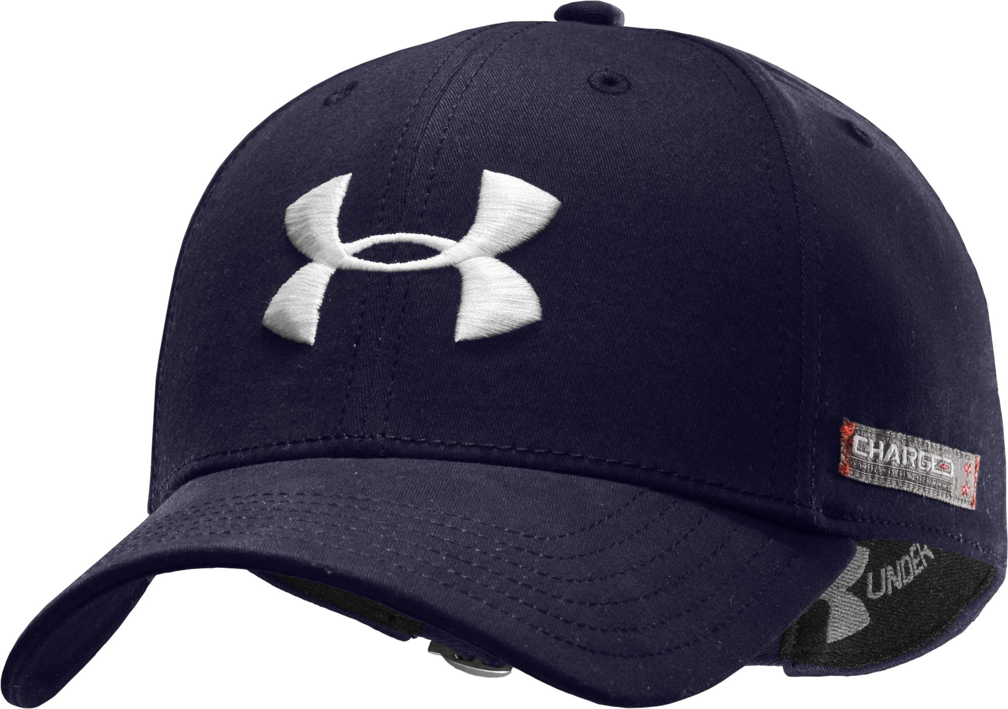 Men's Charged Cotton® Adjustable Cap, Midnight Navy, zoomed image
