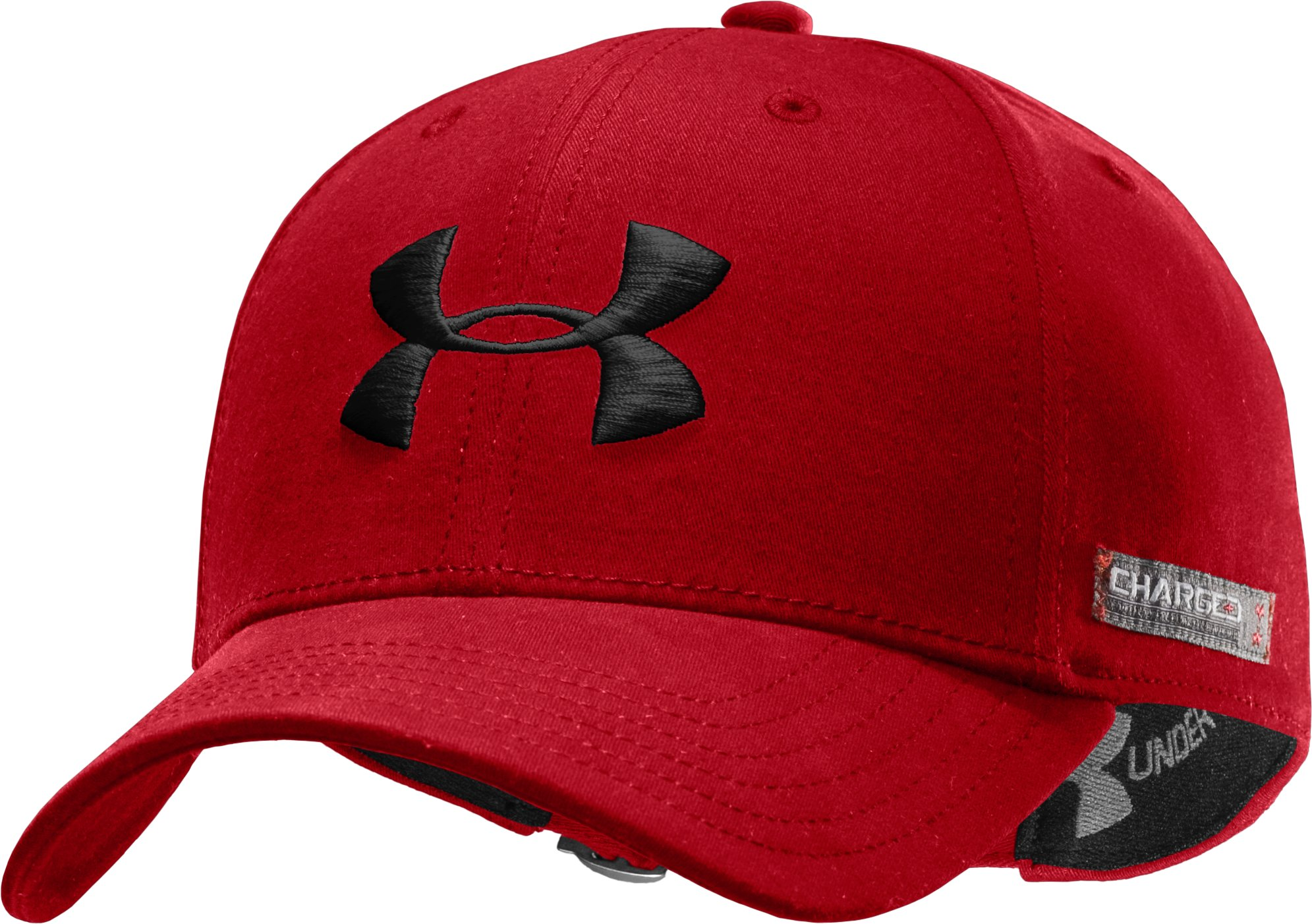 Men's Charged Cotton® Adjustable Cap, Red