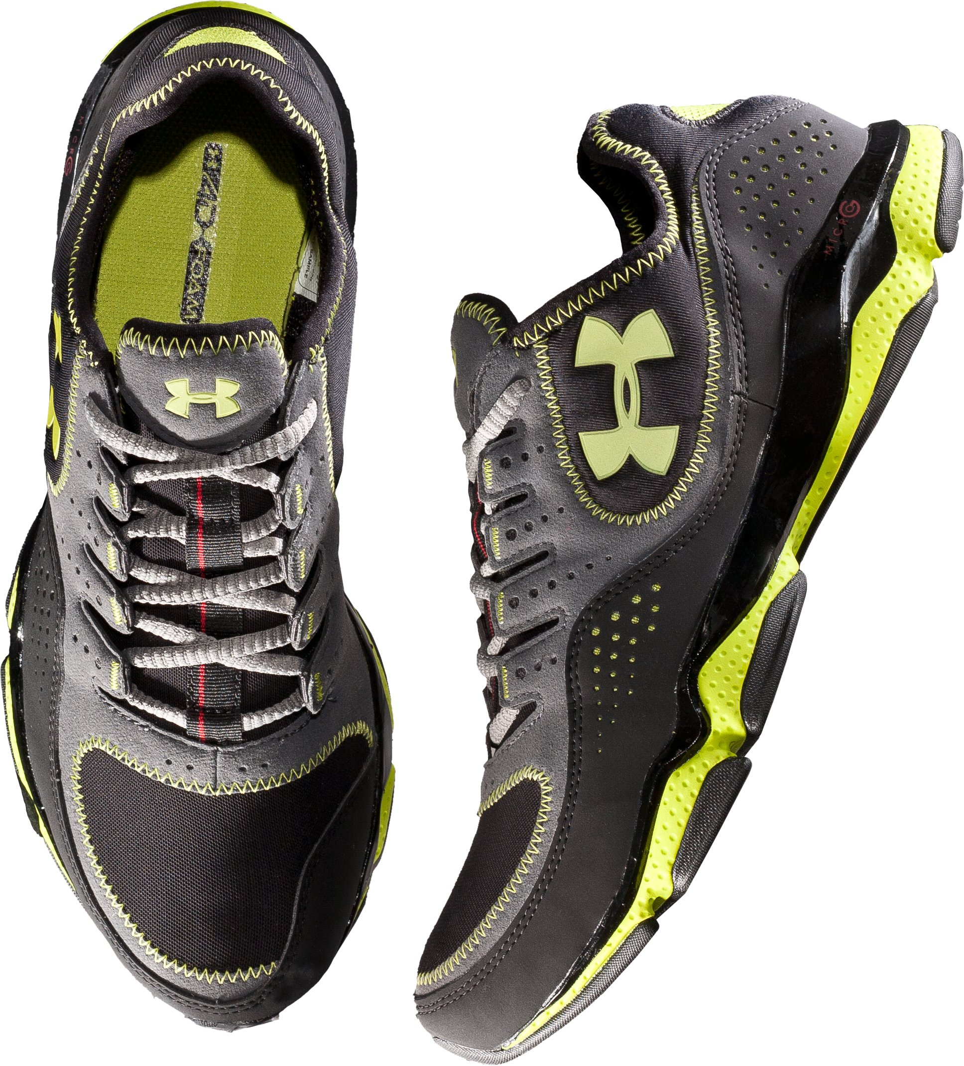 Men's UA Micro G® Defend Training Shoes, Charcoal