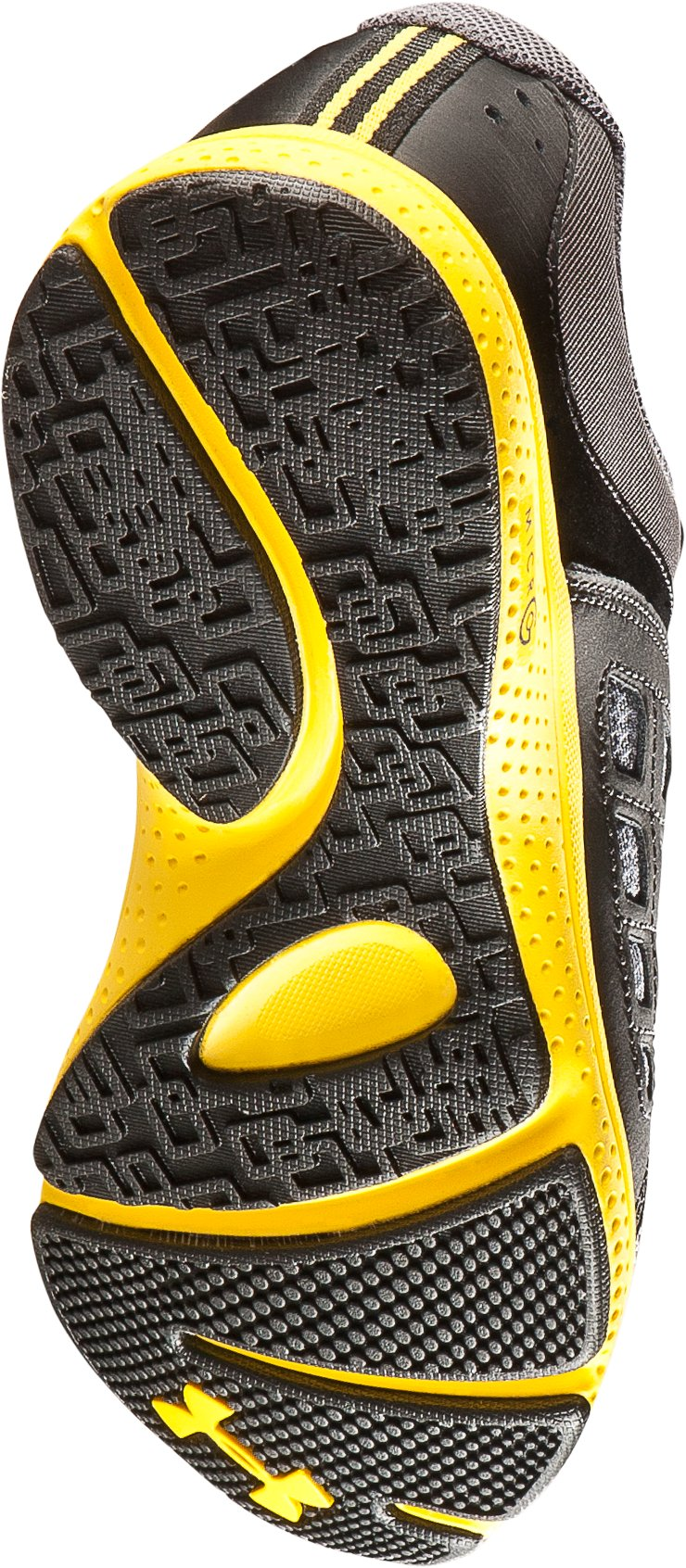 Boys' UA Connect Grade School Running Shoes, Graphite