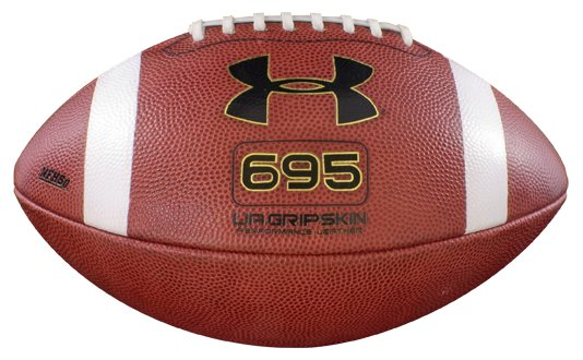 UA GRIPSKIN 695 Football, Cleveland Brown, zoomed image