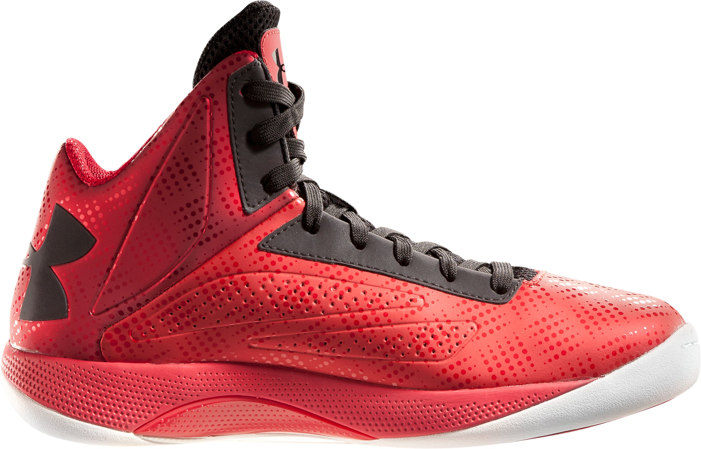 Men's Micro G® Torch Basketball Shoes, Red, zoomed image