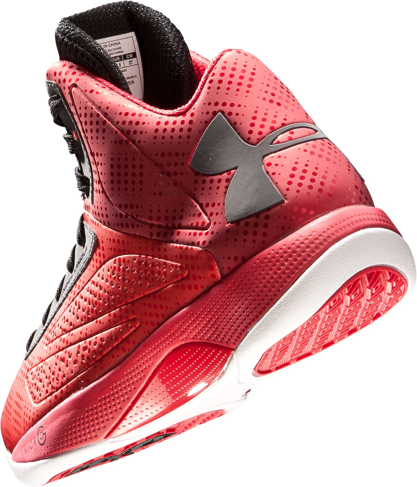 Men's Micro G® Torch Basketball Shoes, Red