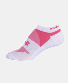 Women's UA Charged Cotton® No Show Sock 3-Pack  1  Color $13.99